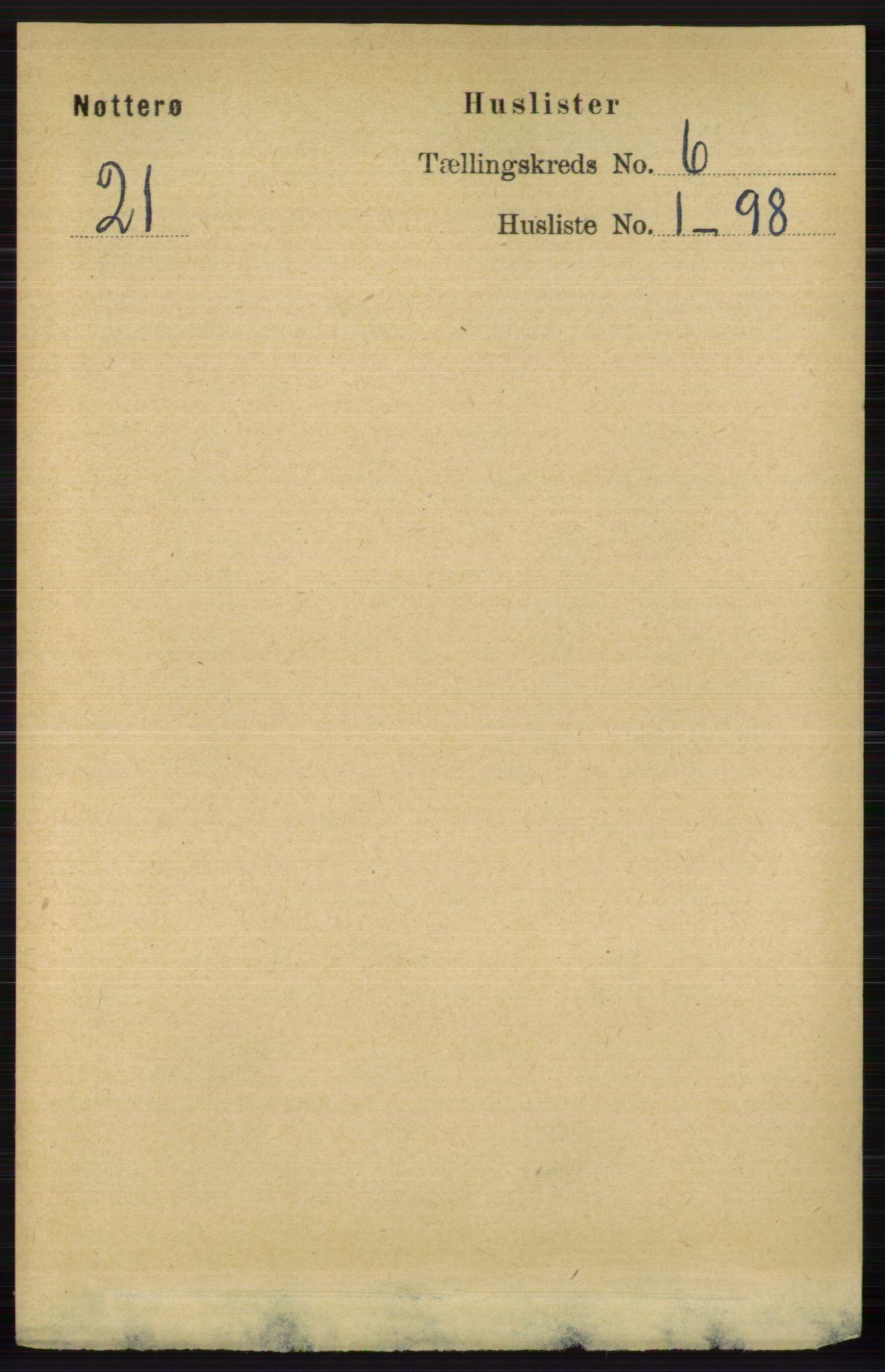 RA, Folketelling 1891 for 0722 Nøtterøy herred, 1891, s. 2747