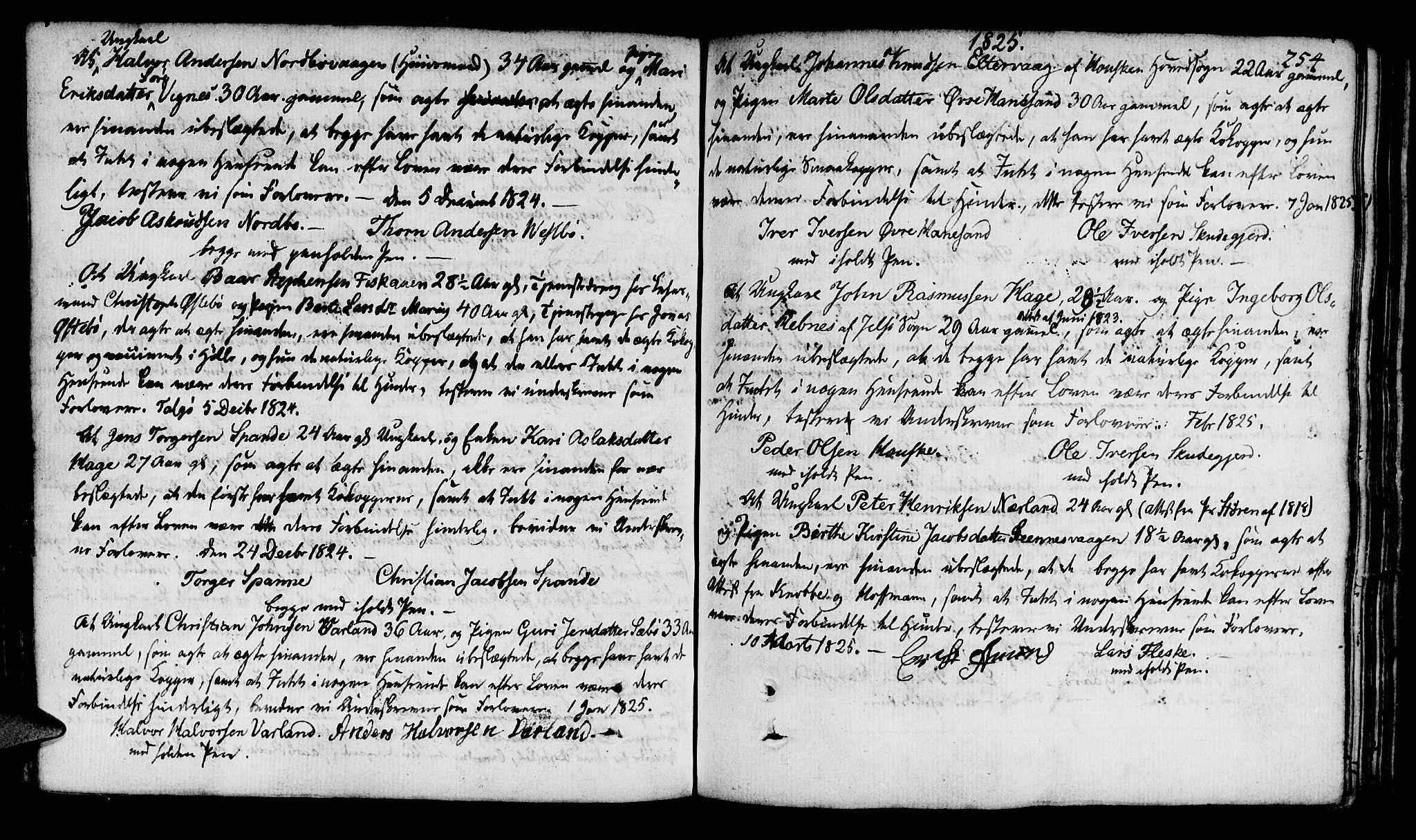 SAST, Finnøy sokneprestkontor, H/Ha/Haa/L0005: Ministerialbok nr. A 5, 1773-1816, s. 254