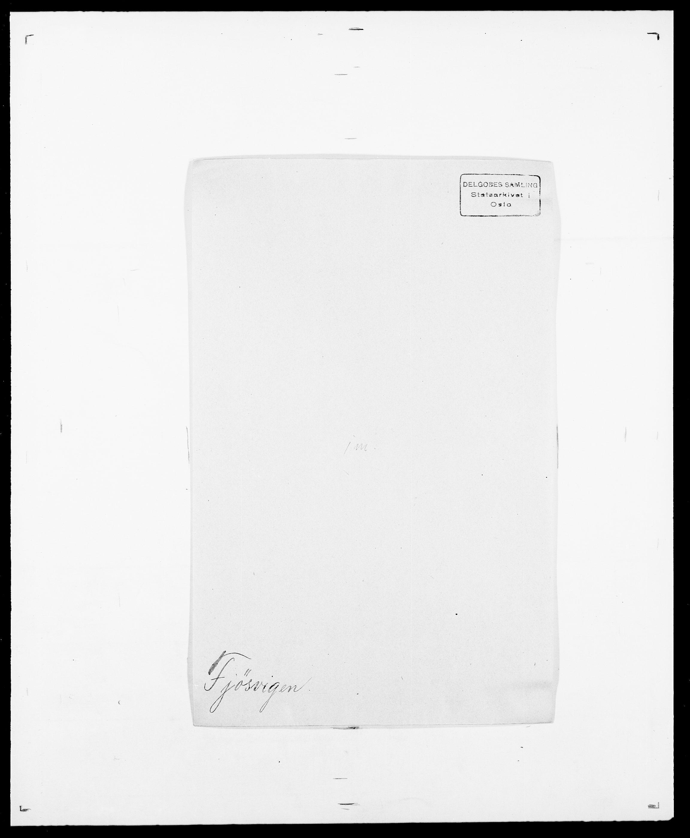 SAO, Delgobe, Charles Antoine - samling, D/Da/L0011: Fahlander - Flood, Flod, s. 559