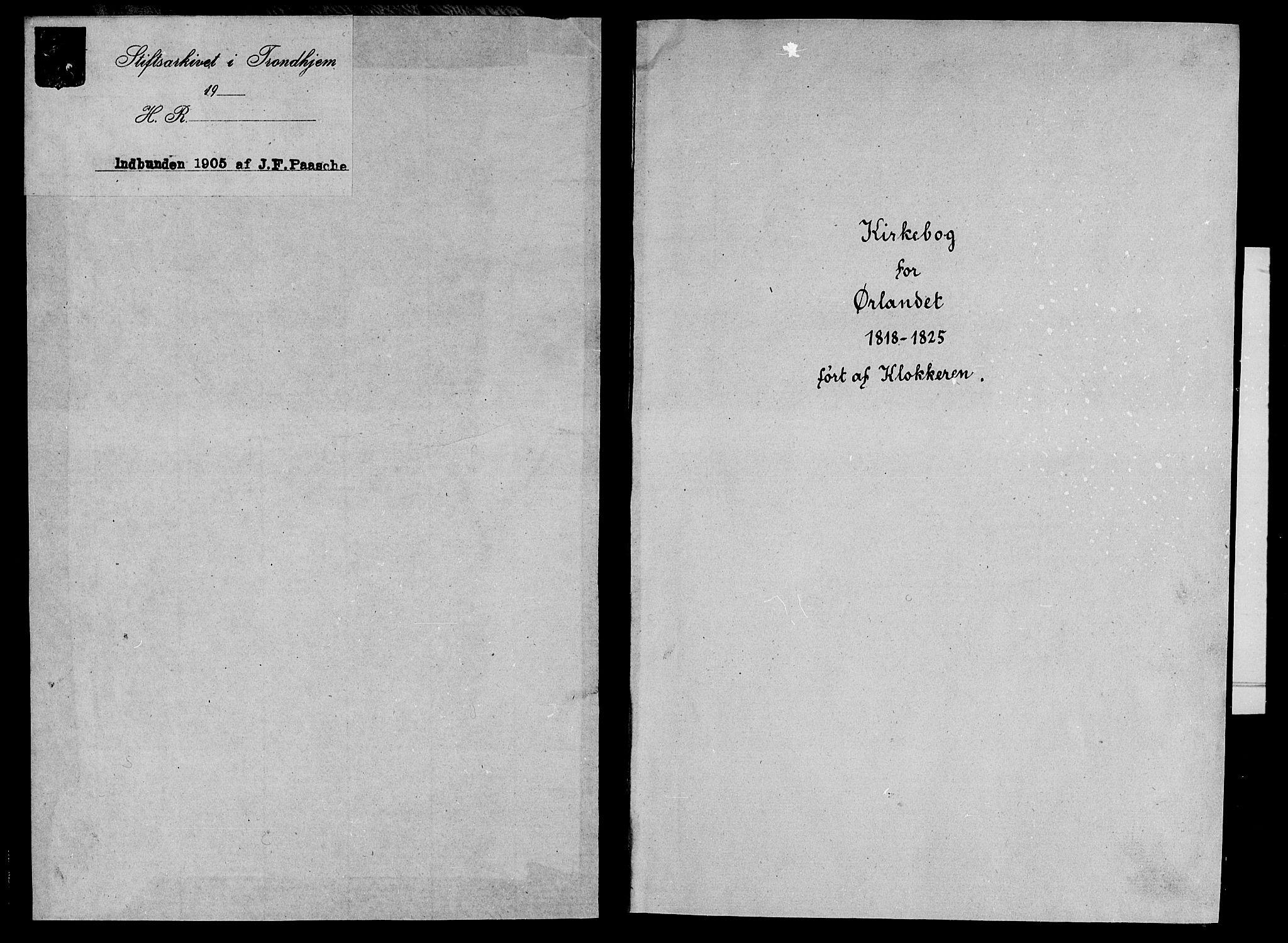 SAT, Ministerialprotokoller, klokkerbøker og fødselsregistre - Sør-Trøndelag, 659/L0744: Klokkerbok nr. 659C01, 1818-1825