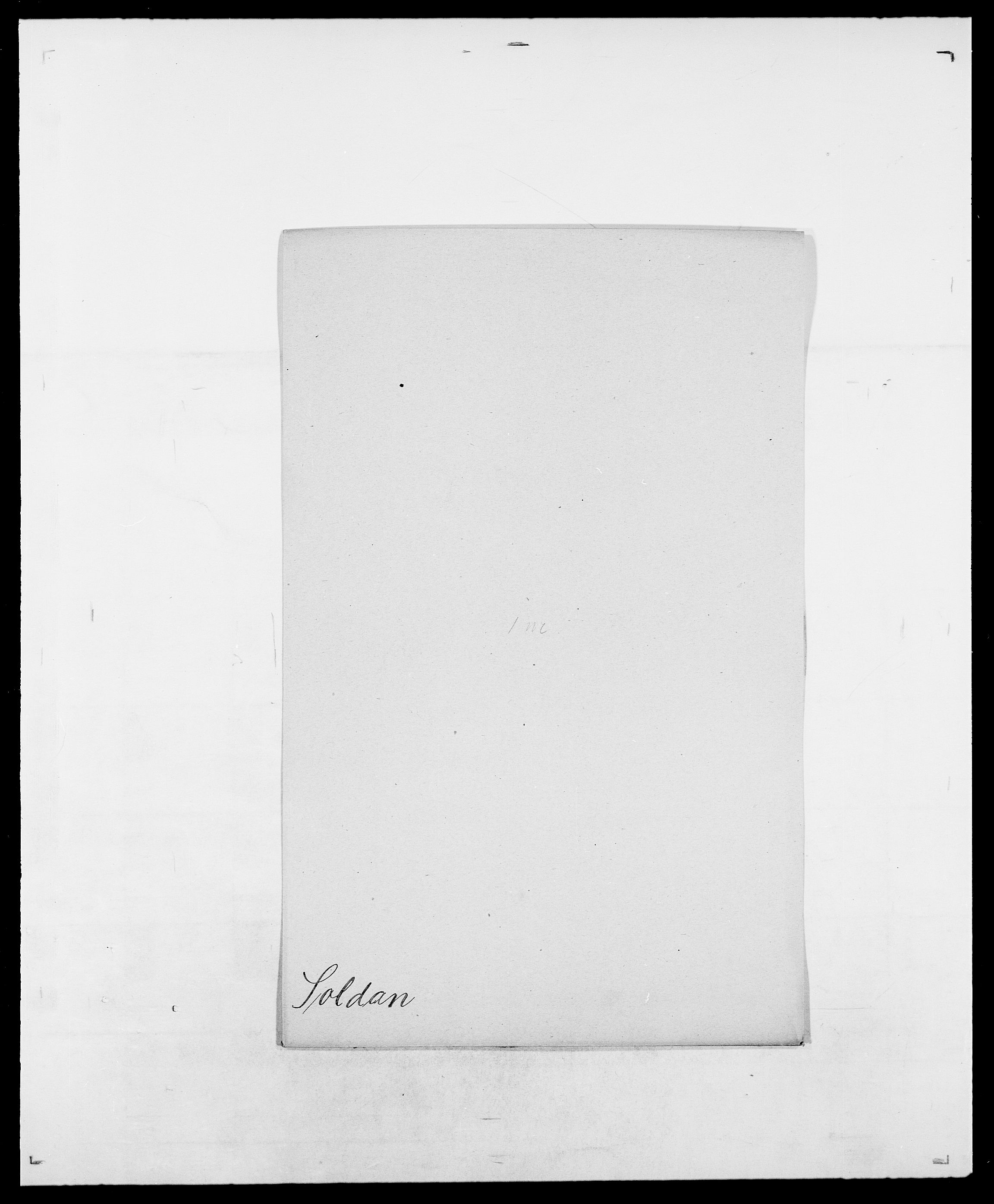 SAO, Delgobe, Charles Antoine - samling, D/Da/L0036: Skaanør - Staverskov, s. 393