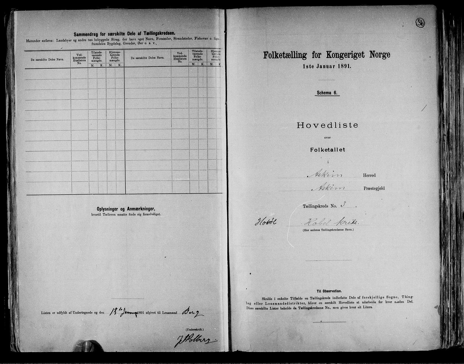 RA, Folketelling 1891 for 0124 Askim herred, 1891, s. 10