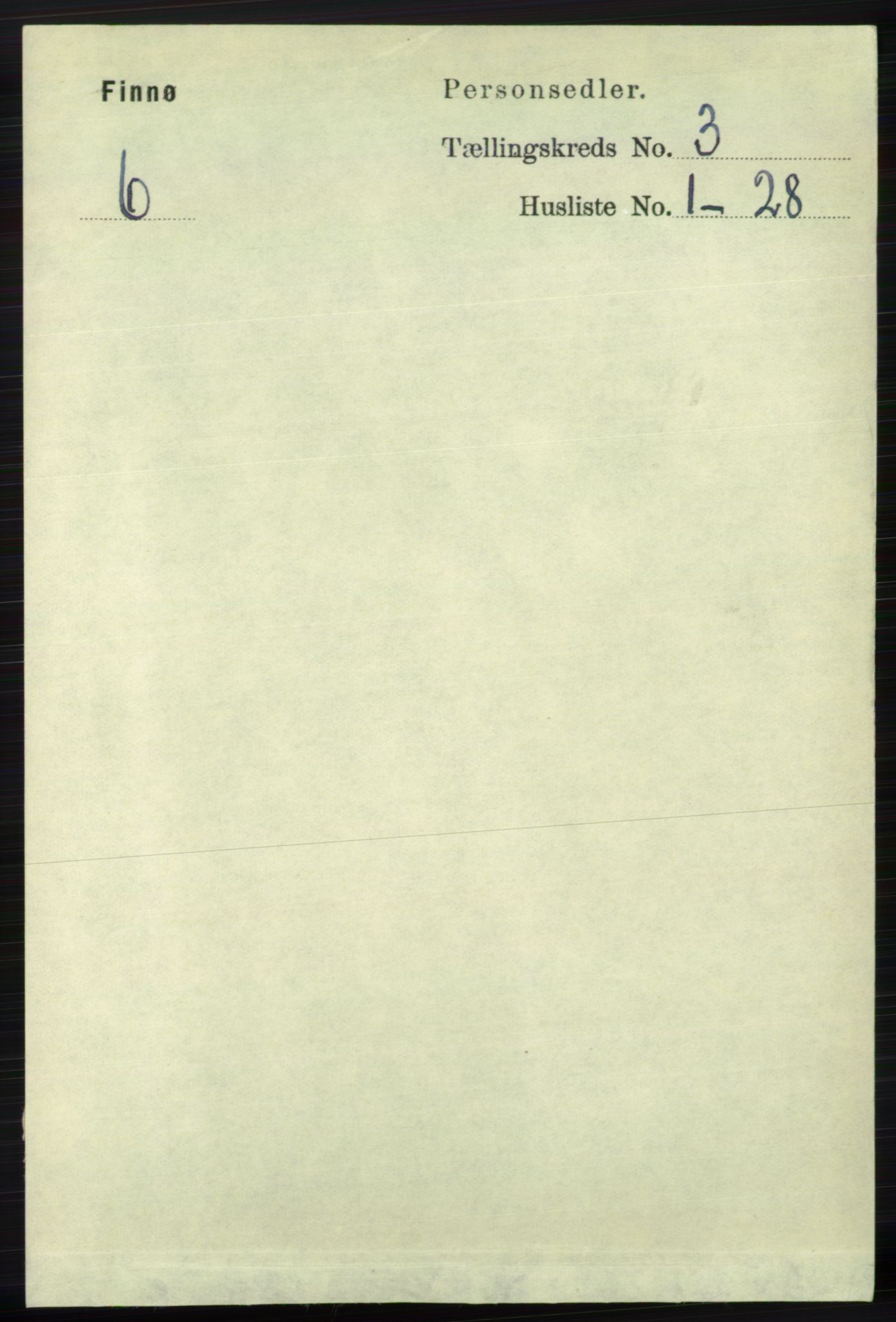 RA, Folketelling 1891 for 1141 Finnøy herred, 1891, s. 474