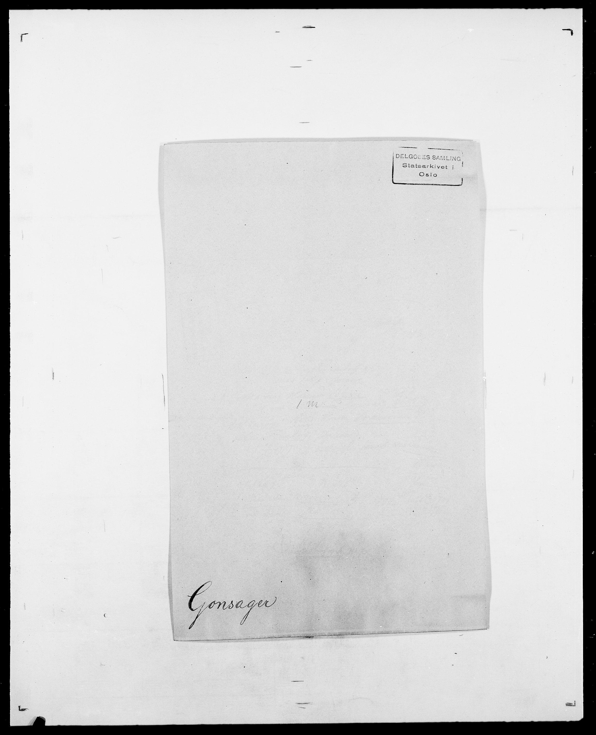 SAO, Delgobe, Charles Antoine - samling, D/Da/L0014: Giebdhausen - Grip, s. 377