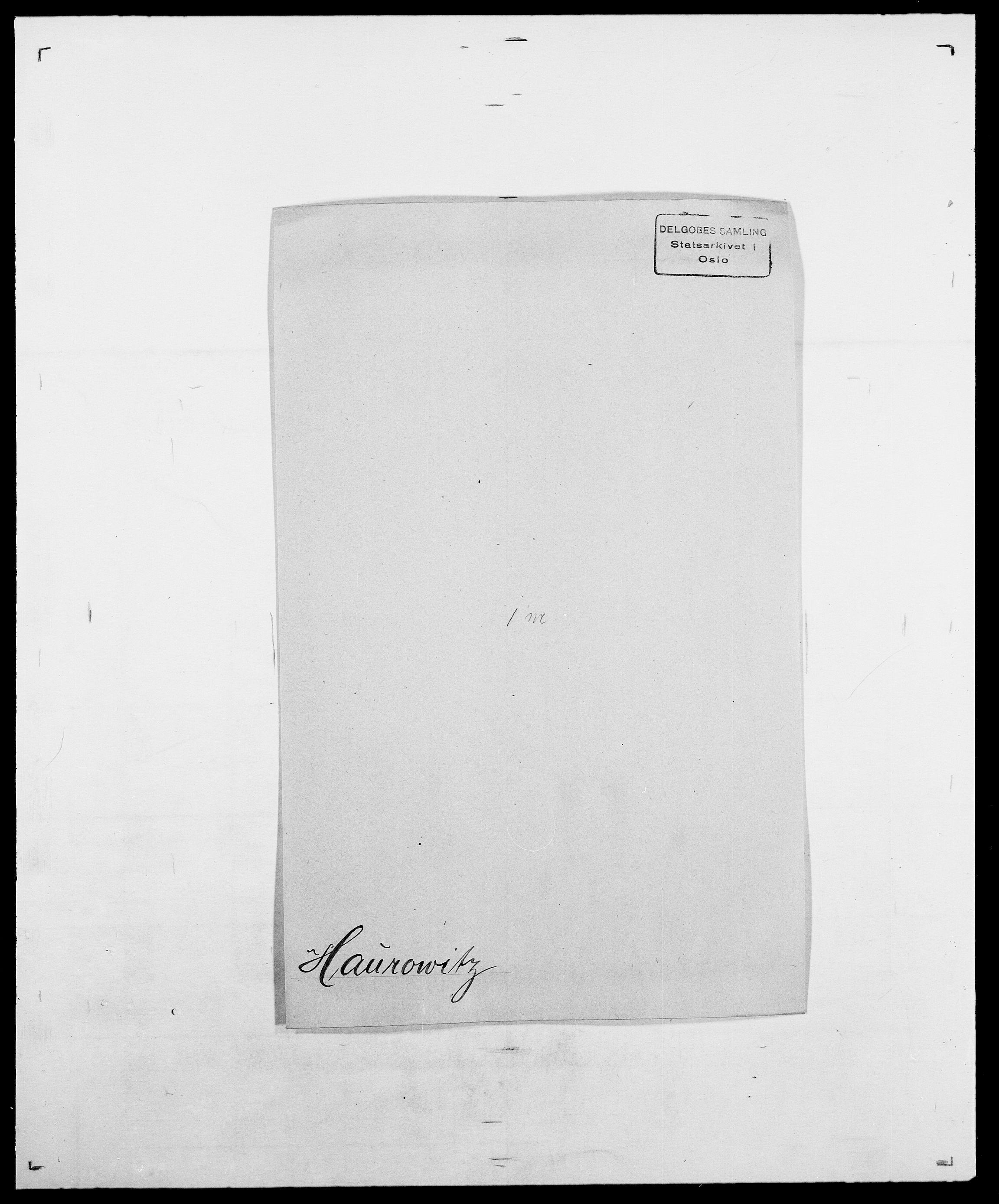 SAO, Delgobe, Charles Antoine - samling, D/Da/L0016: Hamborg - Hektoen, s. 622