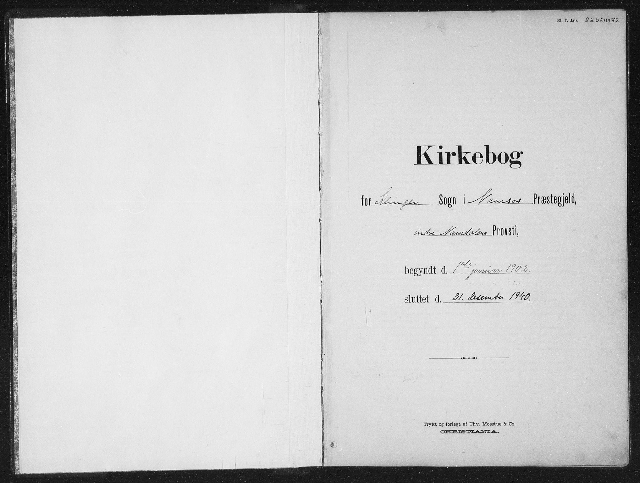SAT, Ministerialprotokoller, klokkerbøker og fødselsregistre - Nord-Trøndelag, 770/L0591: Klokkerbok nr. 770C02, 1902-1940