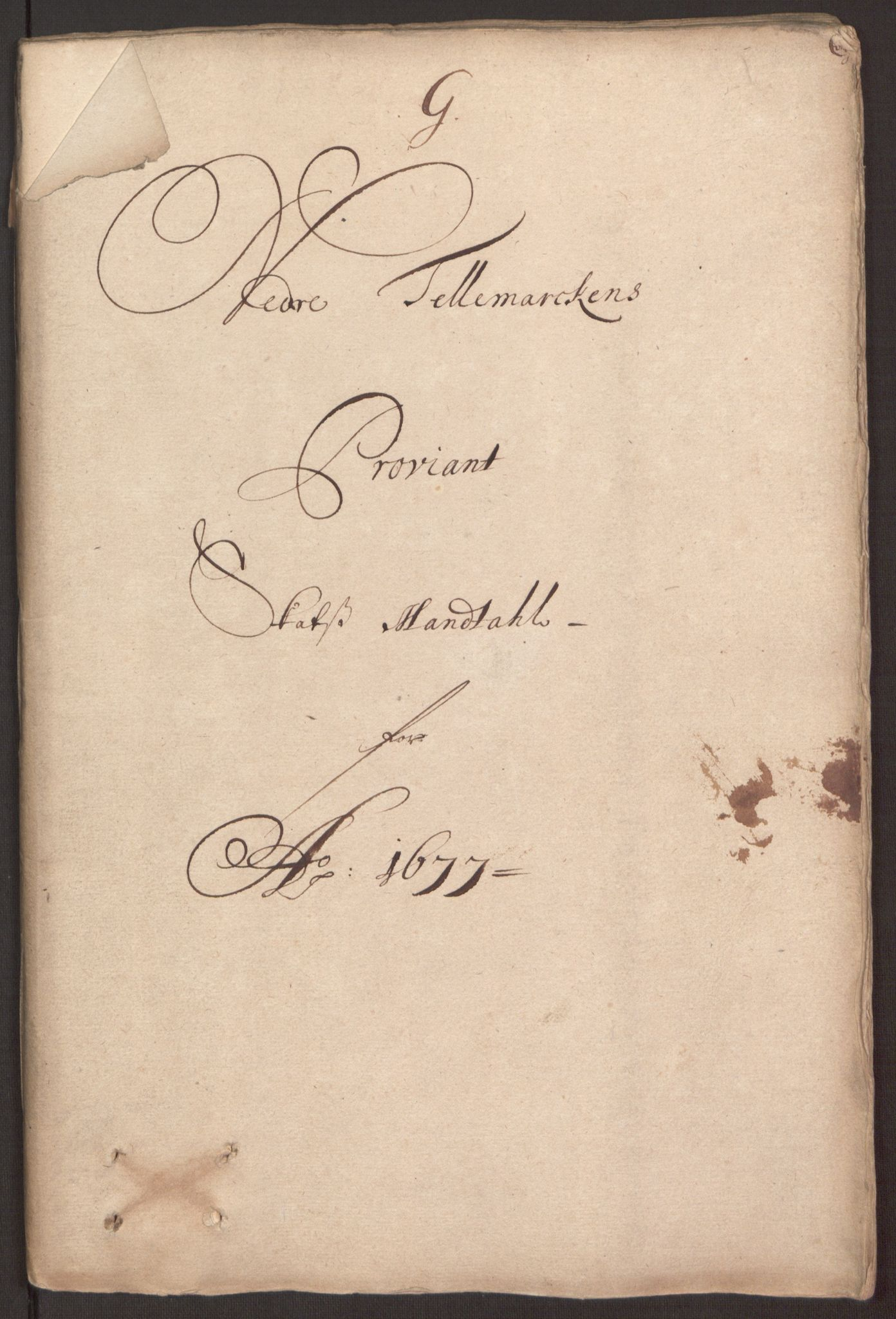RA, Rentekammeret inntil 1814, Reviderte regnskaper, Fogderegnskap, R35/L2068: Fogderegnskap Øvre og Nedre Telemark, 1677, s. 137