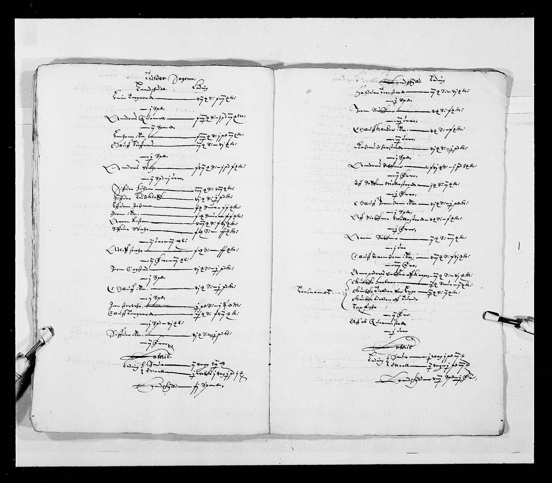 RA, Stattholderembetet 1572-1771, Ek/L0028: Jordebøker 1633-1658:, 1645-1646, s. 176