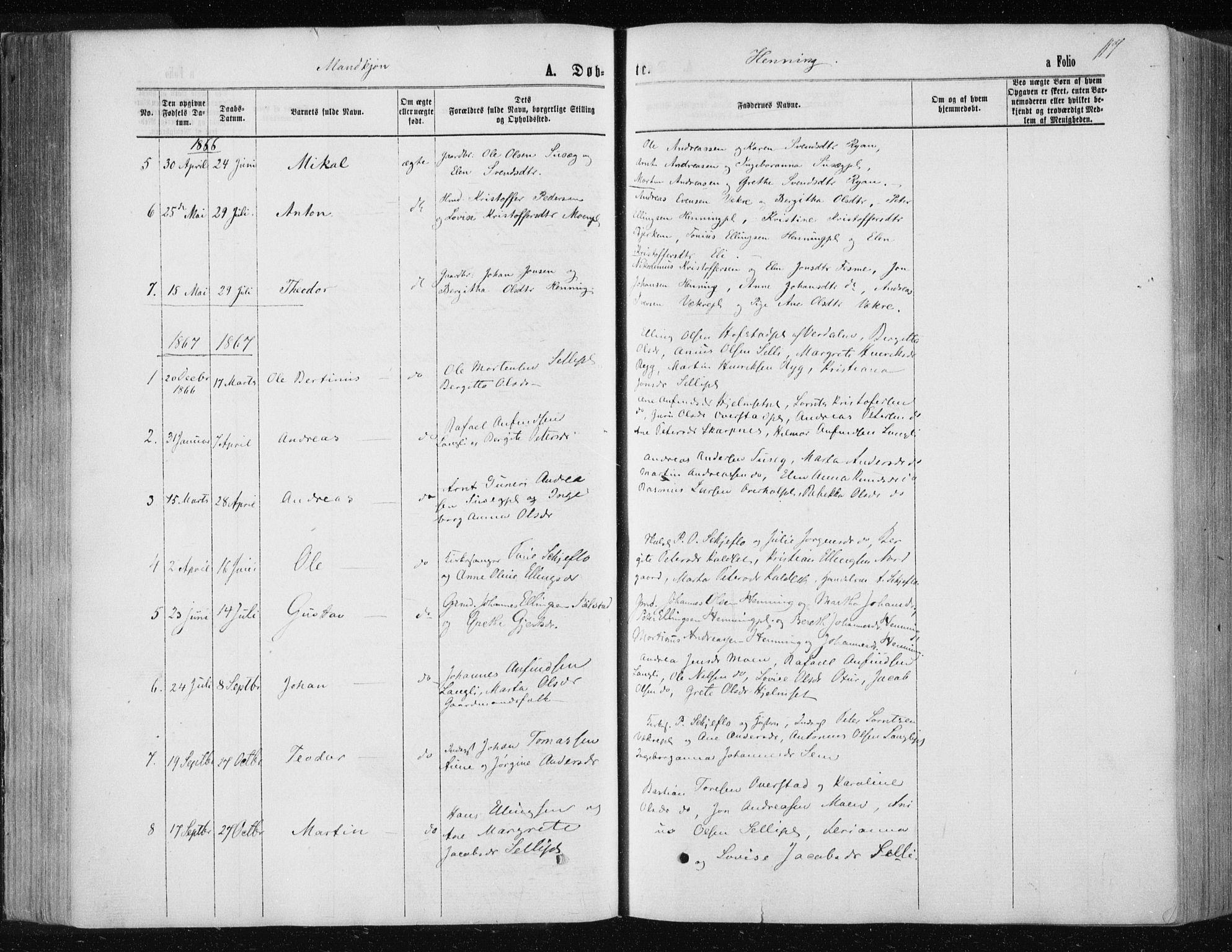 SAT, Ministerialprotokoller, klokkerbøker og fødselsregistre - Nord-Trøndelag, 735/L0345: Ministerialbok nr. 735A08 /3, 1863-1872, s. 117