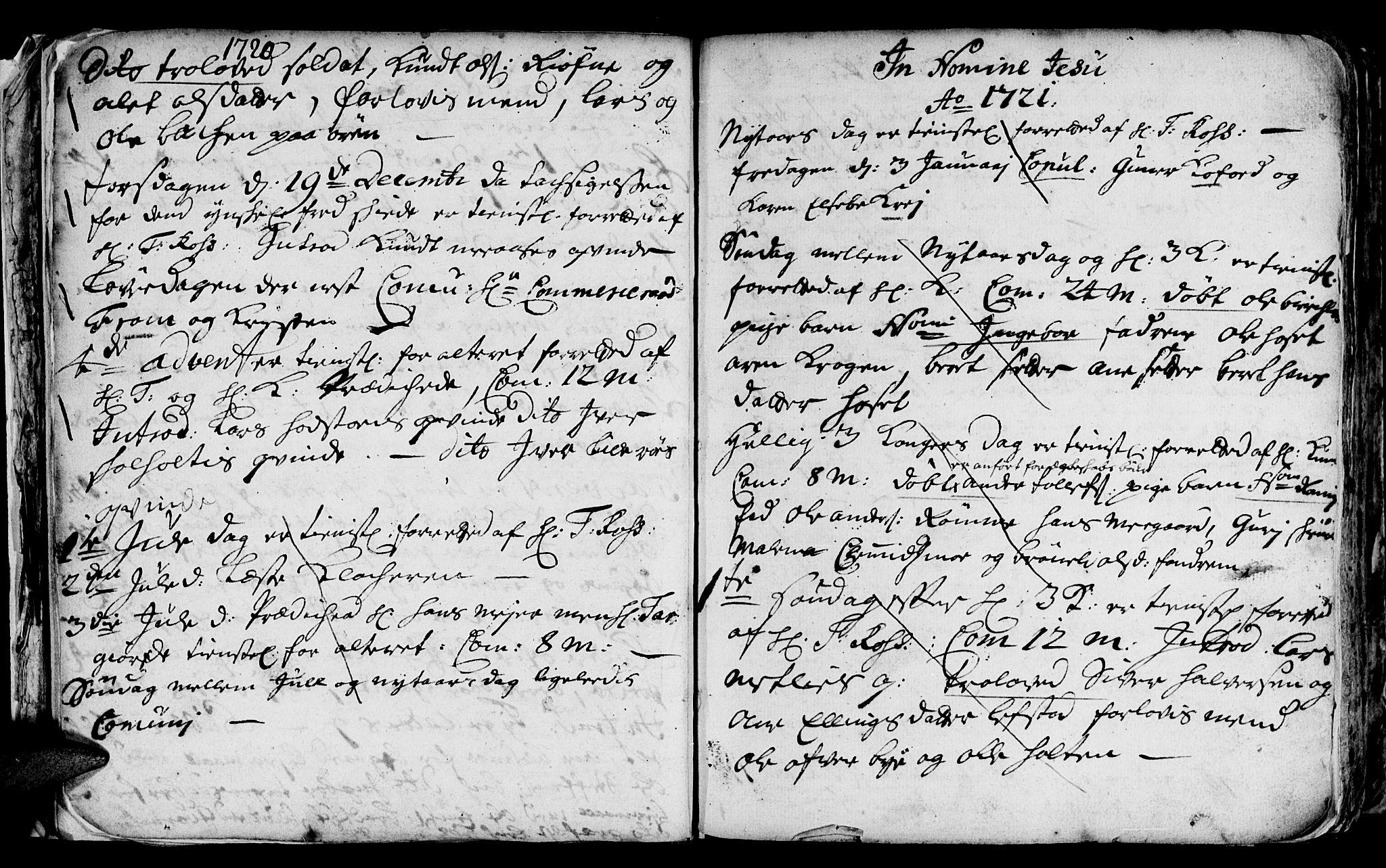 SAT, Ministerialprotokoller, klokkerbøker og fødselsregistre - Sør-Trøndelag, 668/L0812: Klokkerbok nr. 668C01, 1715-1742