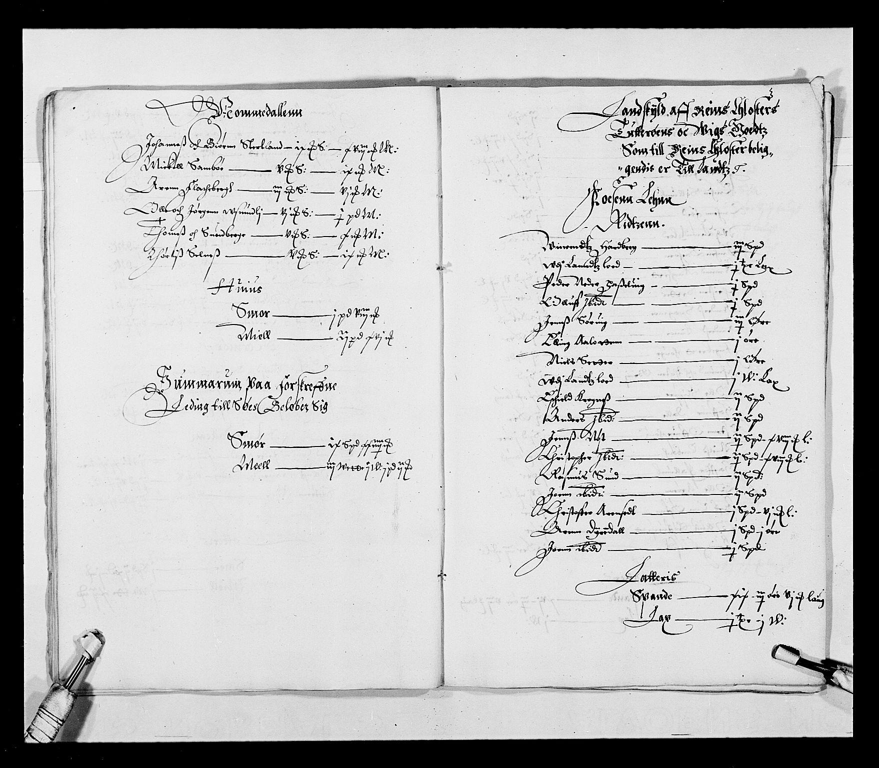 RA, Stattholderembetet 1572-1771, Ek/L0027: Jordebøker 1633-1658:, 1644-1645, s. 14