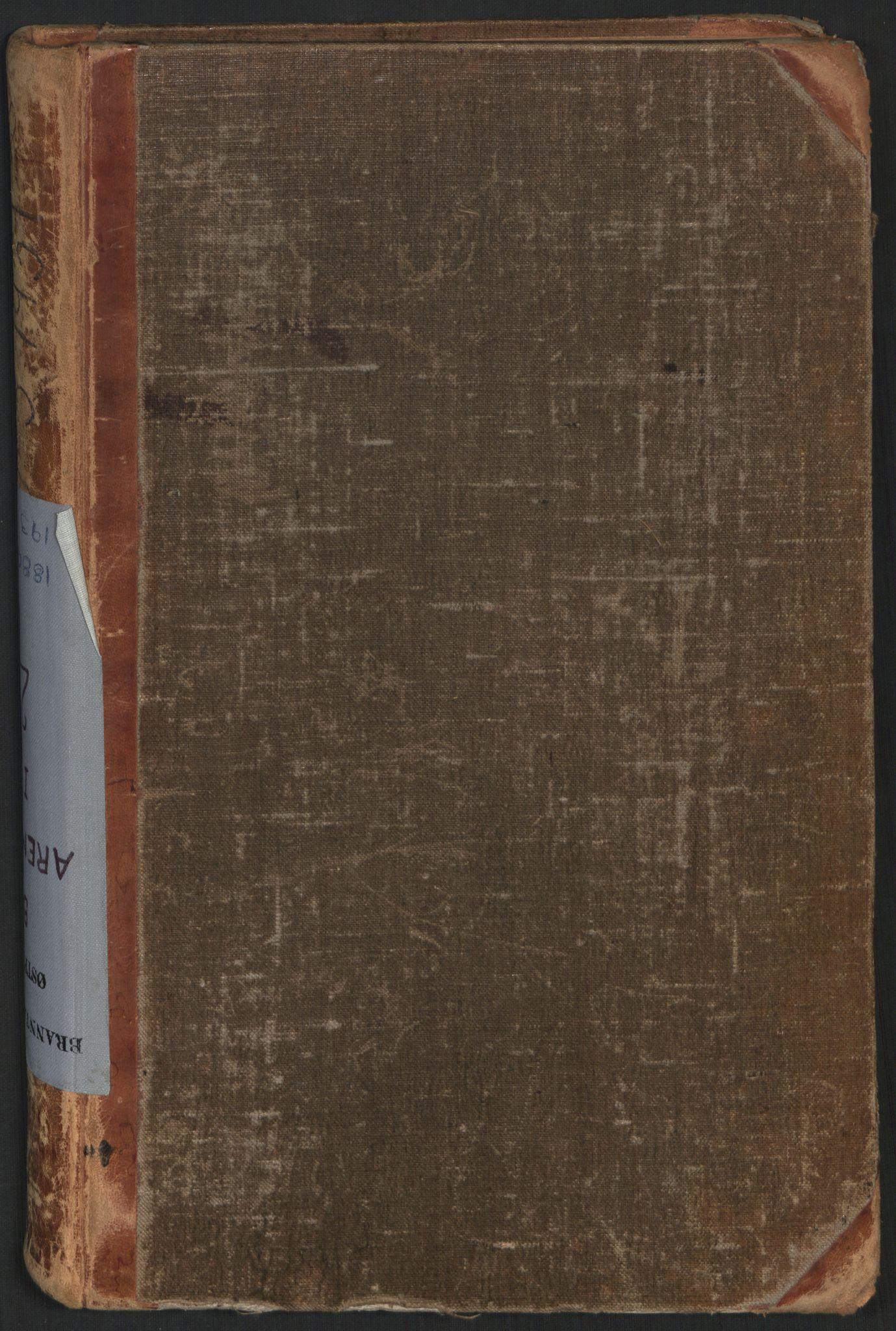 SAO, Norges brannkasse, branntakster Aremark, F/Fa/L0002: Branntakstprotokoll I, 1880-1931