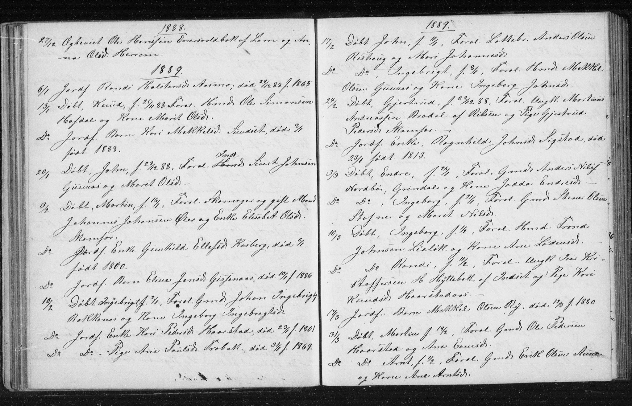 SAT, Ministerialprotokoller, klokkerbøker og fødselsregistre - Sør-Trøndelag, 674/L0875: Klokkerbok nr. 674C02, 1873-1891