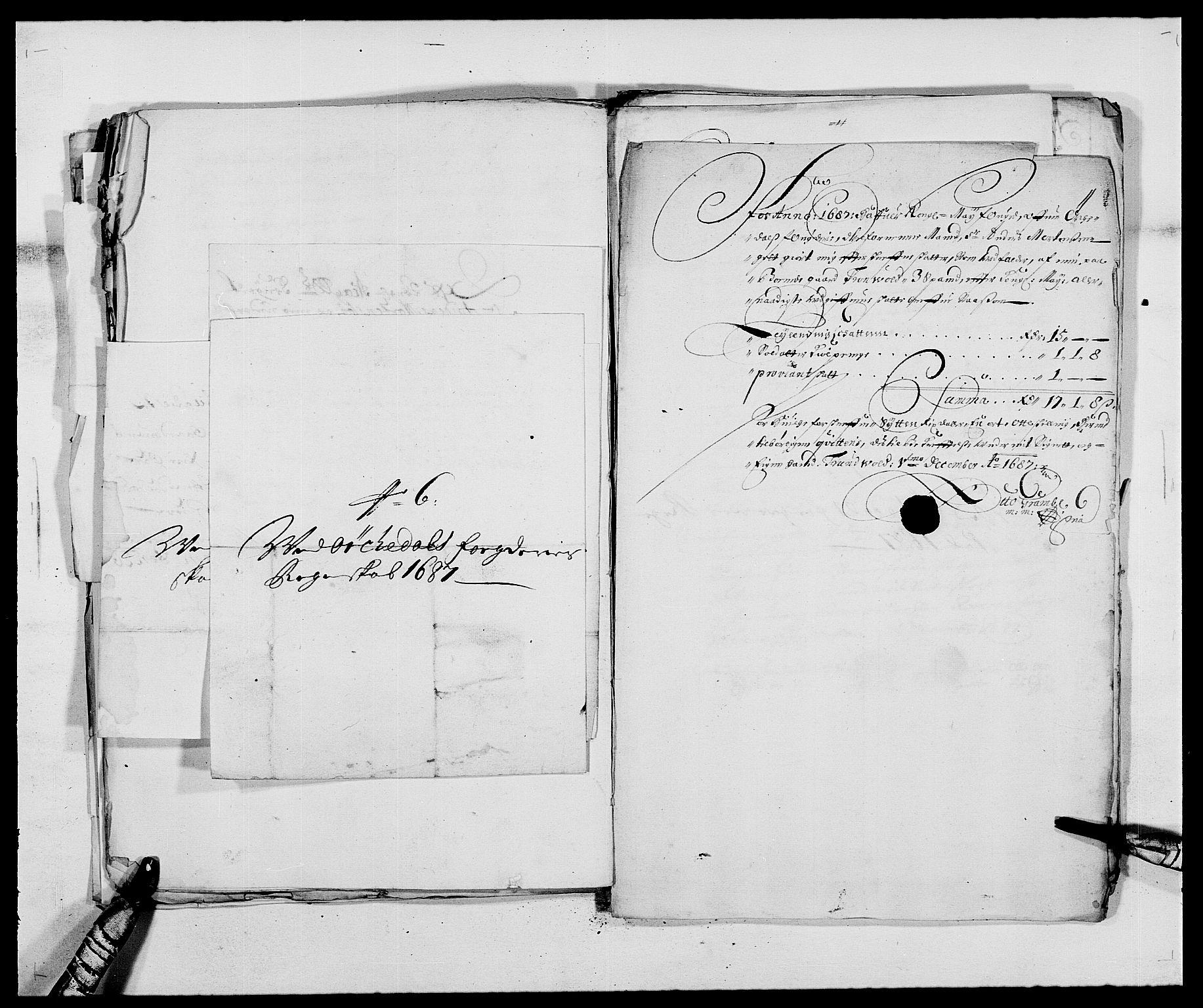 RA, Rentekammeret inntil 1814, Reviderte regnskaper, Fogderegnskap, R58/L3935: Fogderegnskap Orkdal, 1687-1688, s. 169
