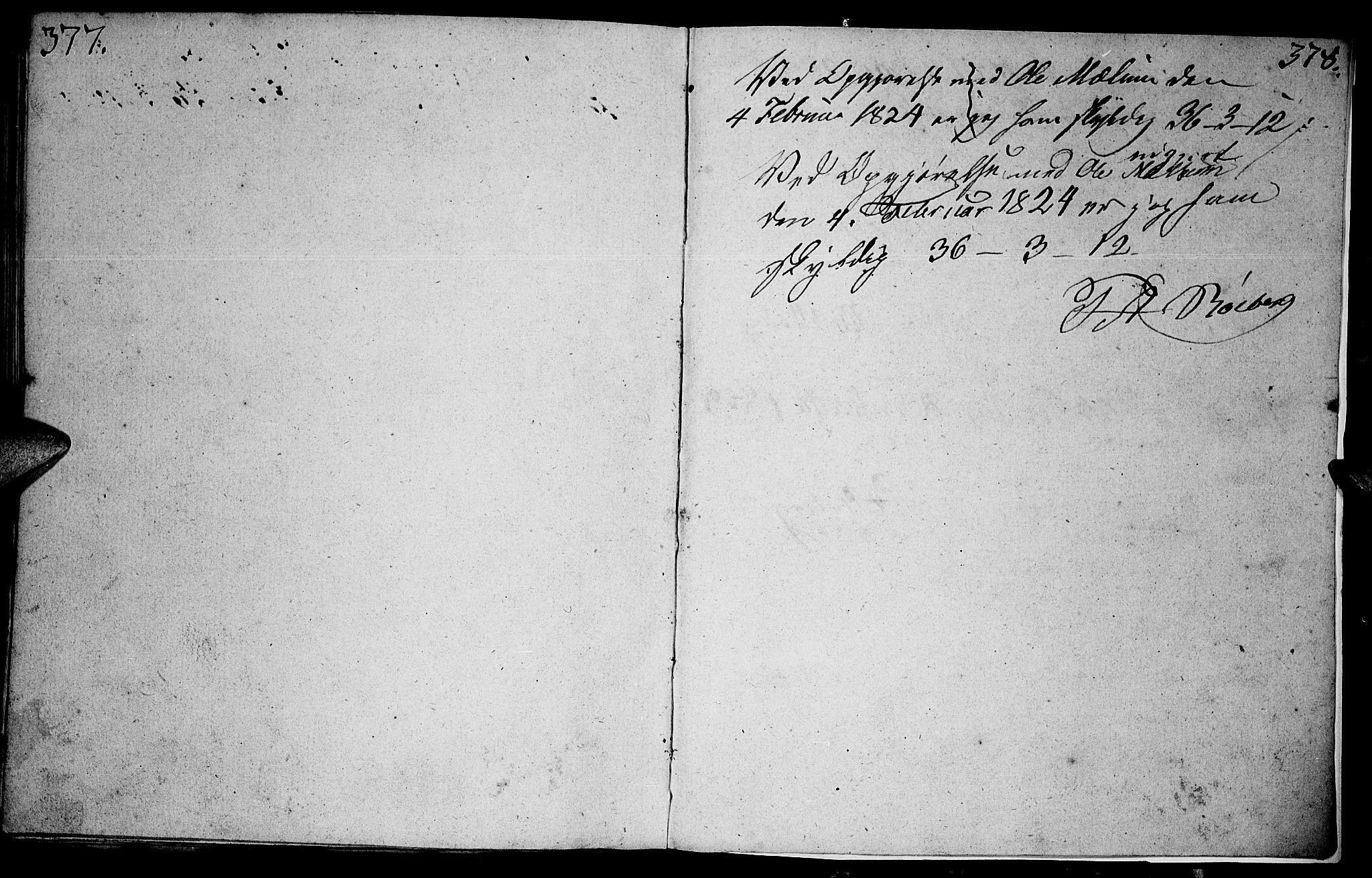 SAH, Vardal prestekontor, H/Ha/Hab/L0003: Klokkerbok nr. 3, 1803-1808, s. 377-378