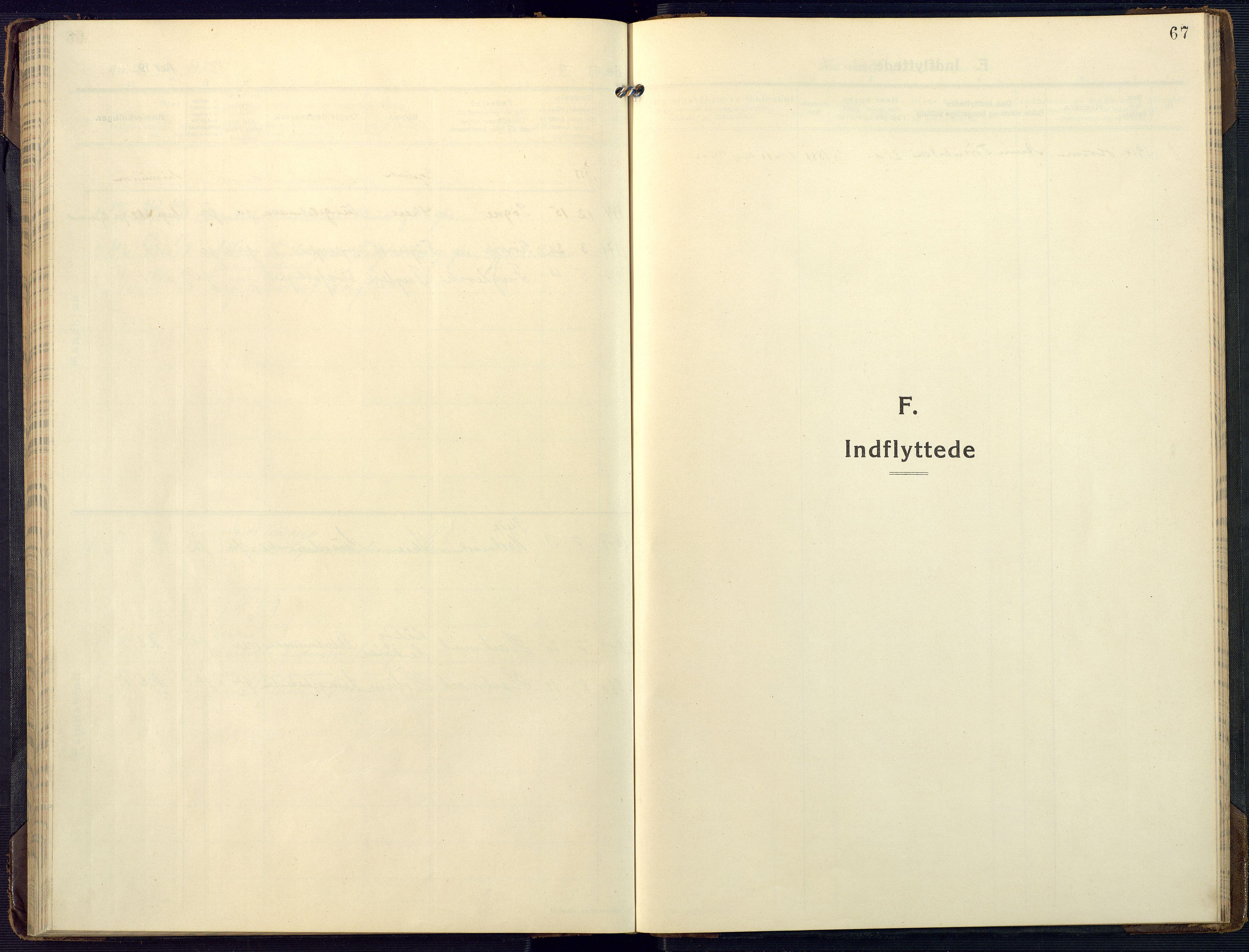 SAK, Mandal sokneprestkontor, F/Fa/Fab/L0003: Ministerialbok nr. A 3, 1913-1933, s. 67