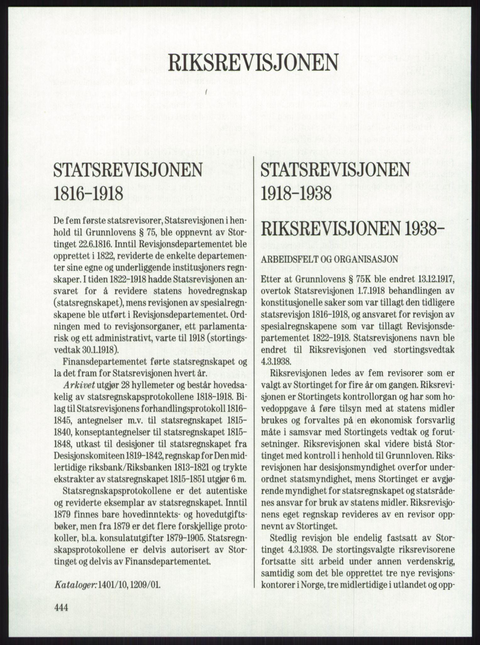 RA, Publikasjoner*, 1974-1977, s. 444