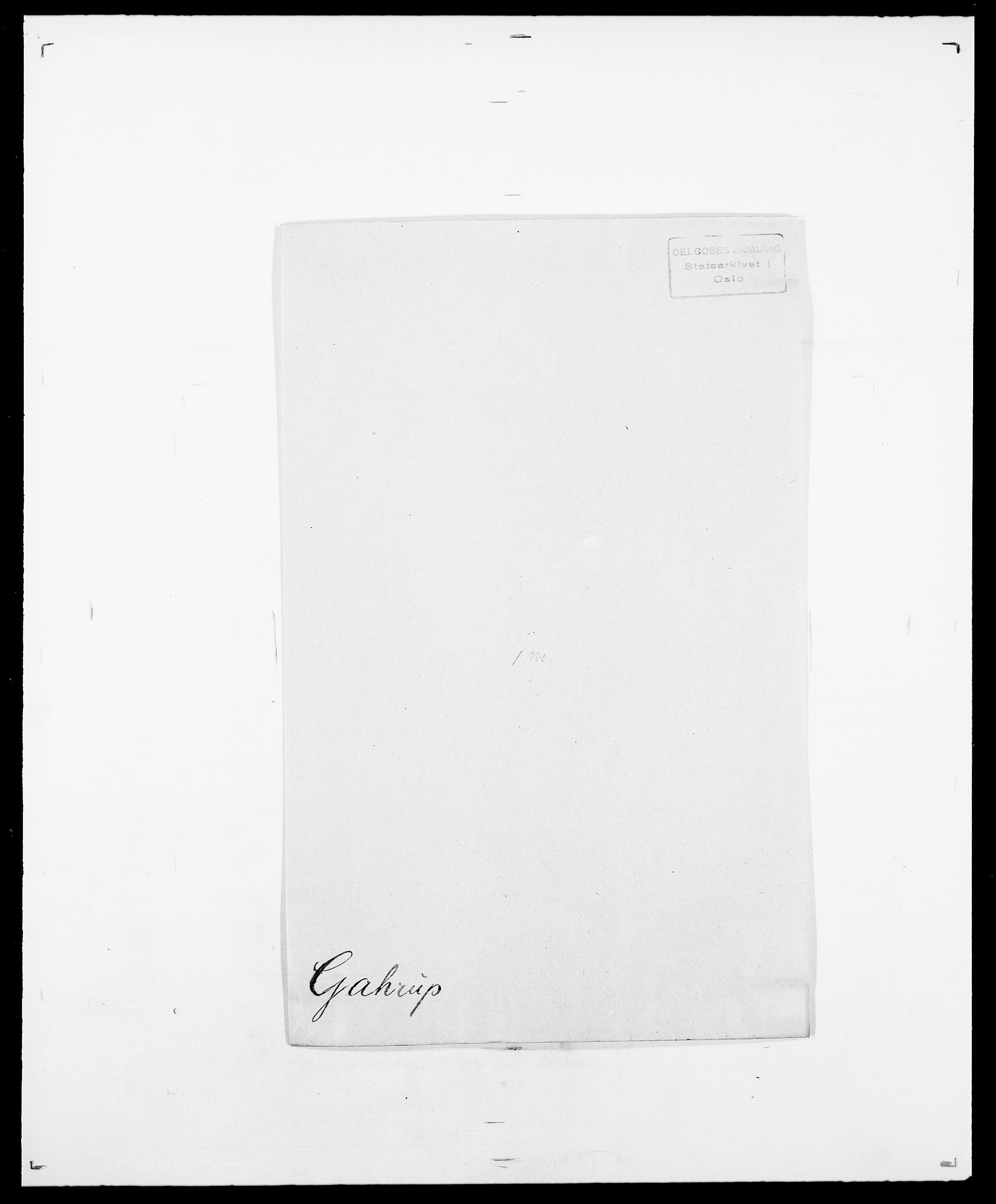 SAO, Delgobe, Charles Antoine - samling, D/Da/L0013: Forbos - Geving, s. 403