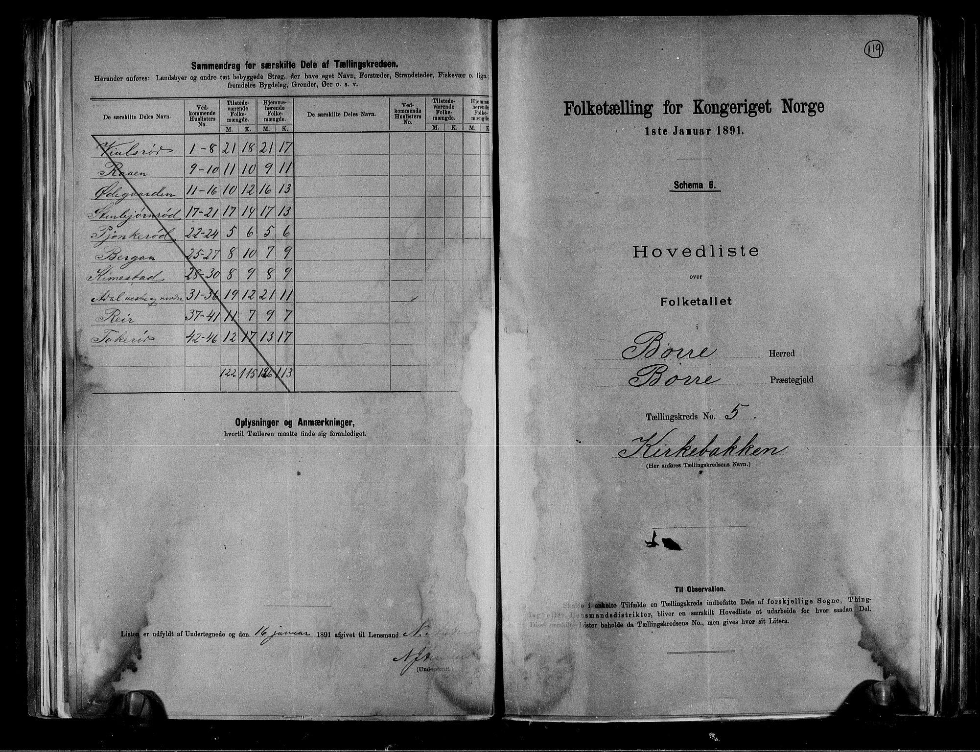 RA, Folketelling 1891 for 0717 Borre herred, 1891, s. 14