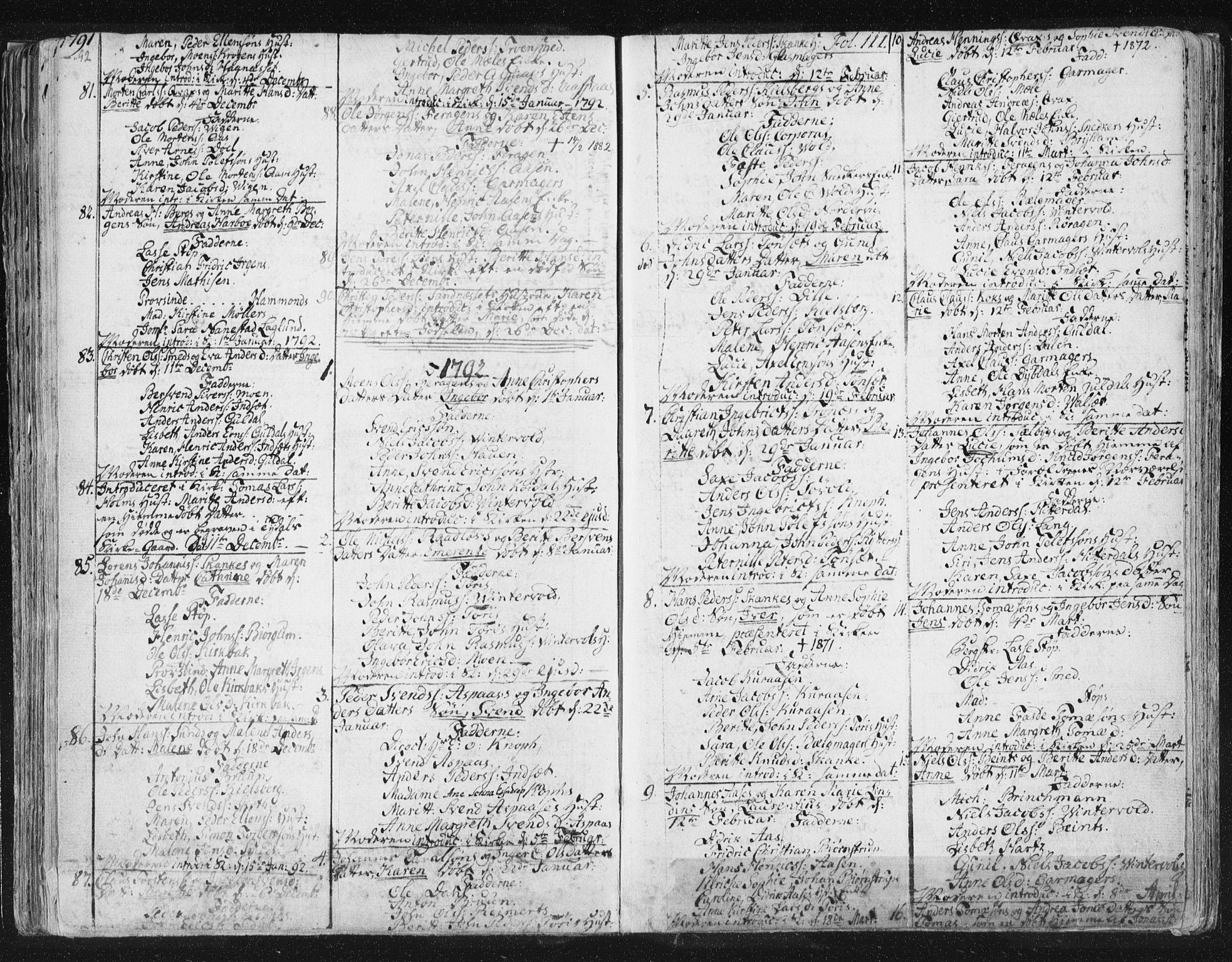 SAT, Ministerialprotokoller, klokkerbøker og fødselsregistre - Sør-Trøndelag, 681/L0926: Ministerialbok nr. 681A04, 1767-1797, s. 111