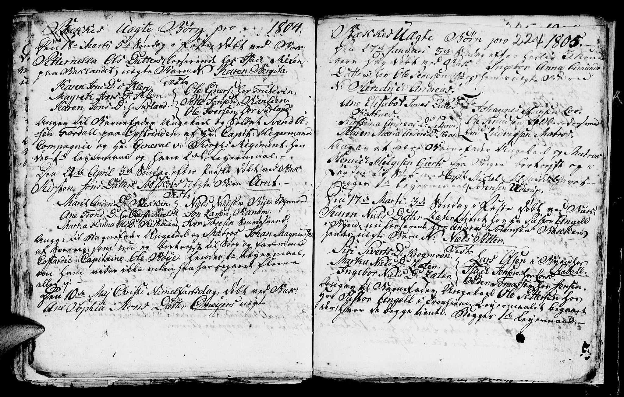 SAT, Ministerialprotokoller, klokkerbøker og fødselsregistre - Sør-Trøndelag, 604/L0218: Klokkerbok nr. 604C01, 1754-1819, s. 224