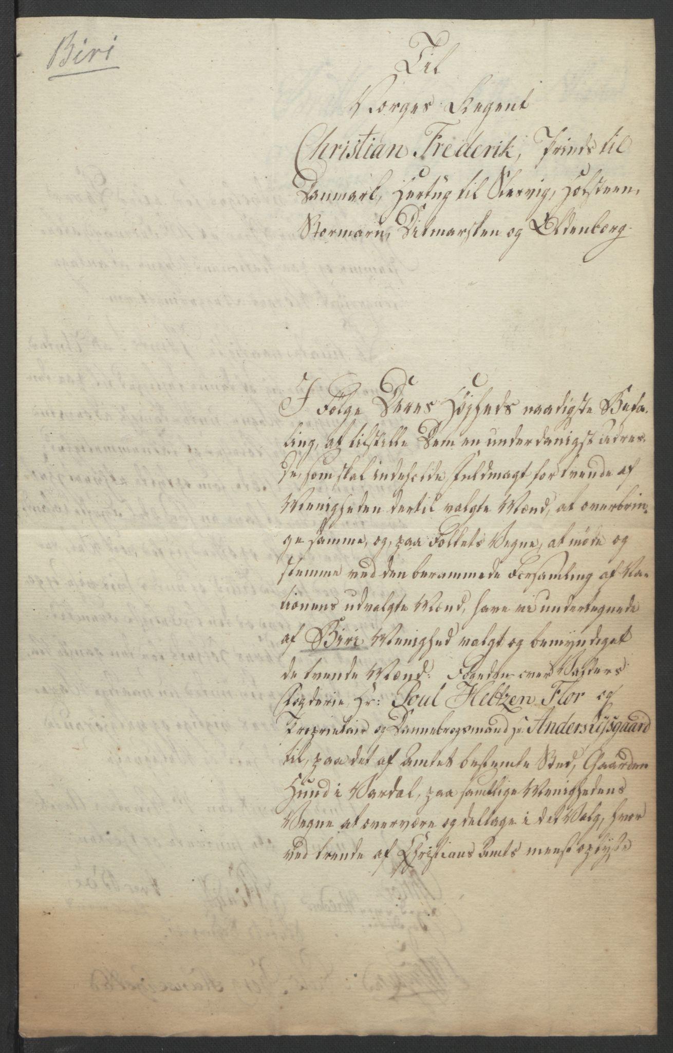 RA, Statsrådssekretariatet, D/Db/L0007: Fullmakter for Eidsvollsrepresentantene i 1814. , 1814, s. 251