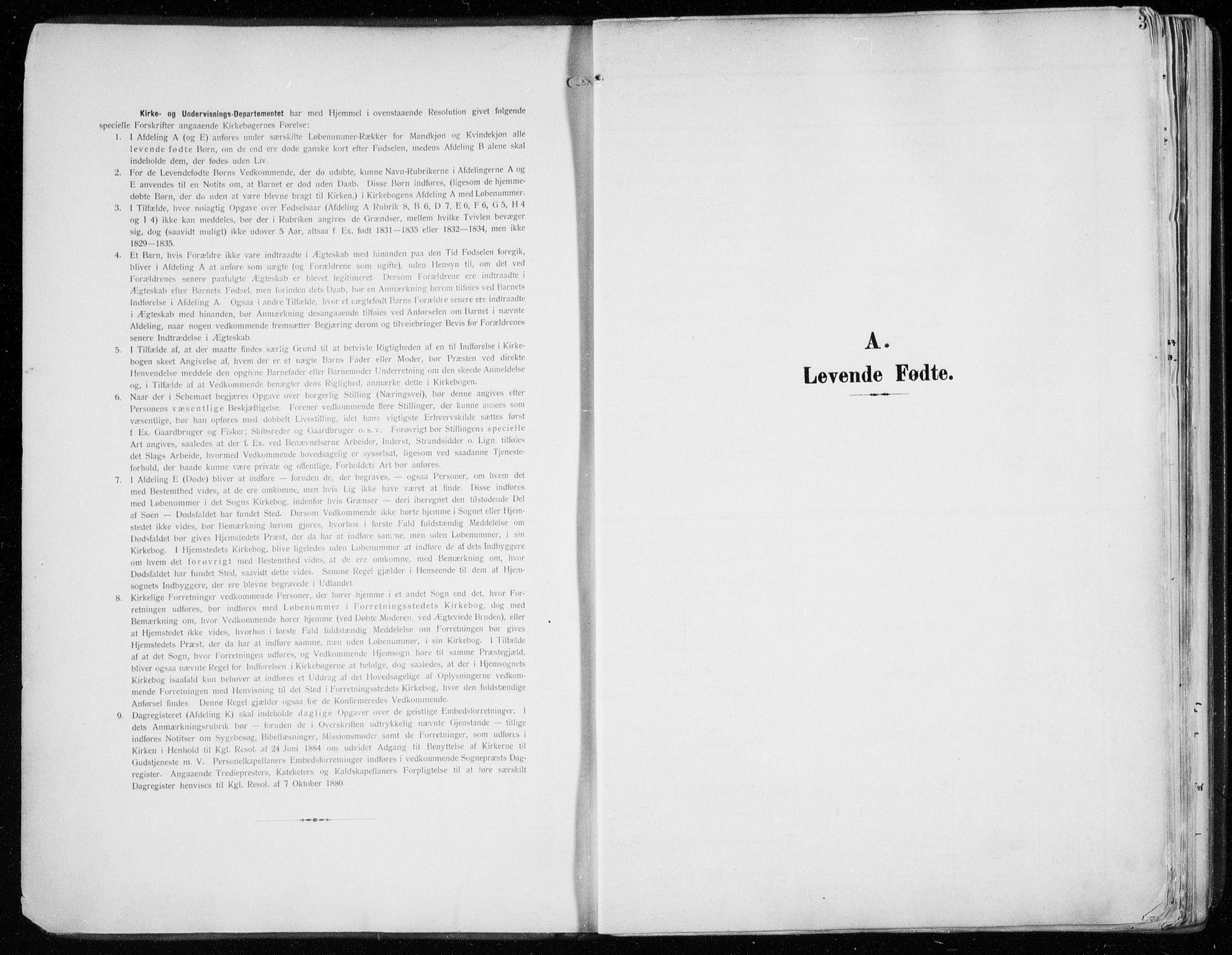 SATØ, Tromsø sokneprestkontor/stiftsprosti/domprosti, G/Ga/L0017kirke: Ministerialbok nr. 17, 1907-1917, s. 3
