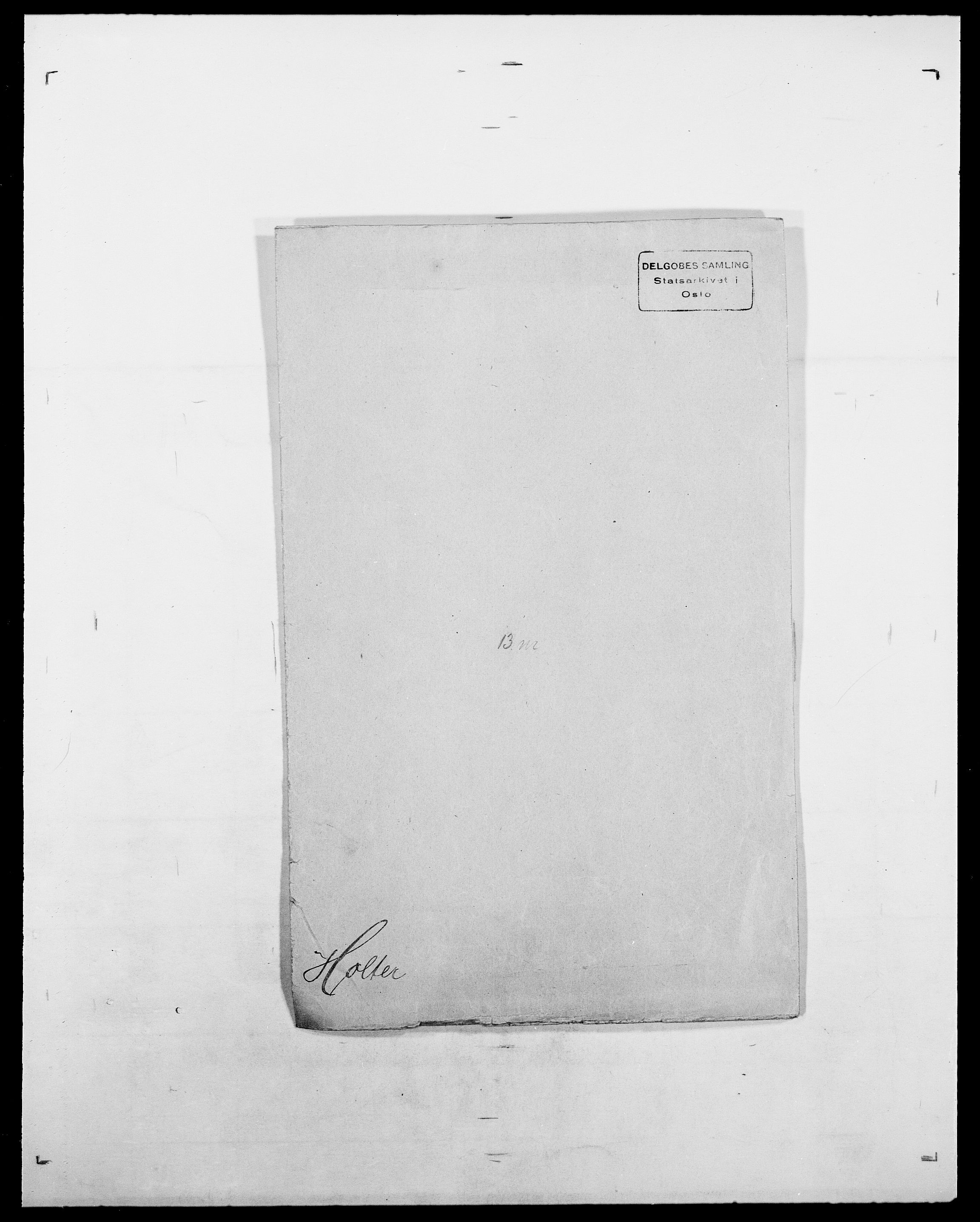 SAO, Delgobe, Charles Antoine - samling, D/Da/L0018: Hoch - Howert, s. 844