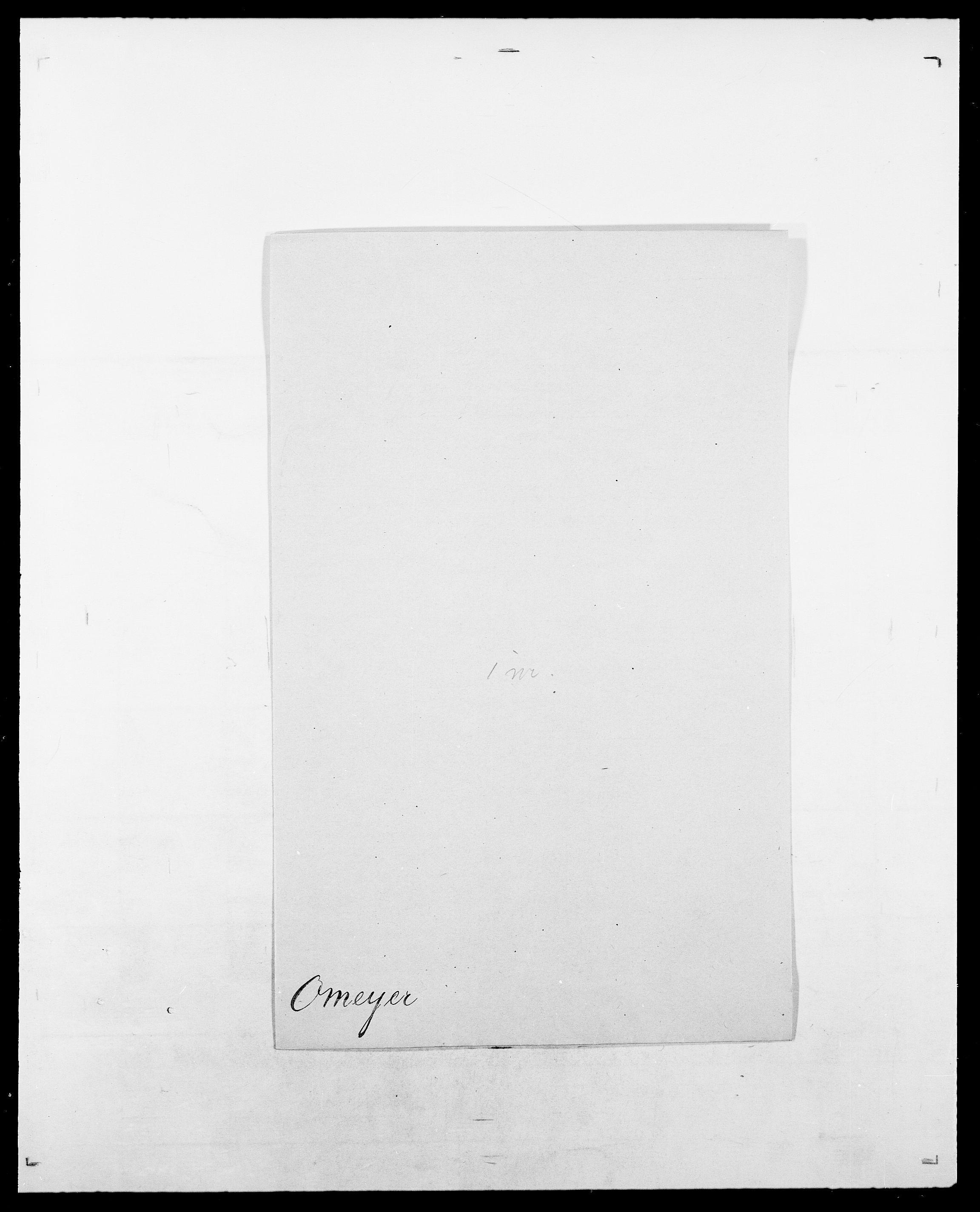 SAO, Delgobe, Charles Antoine - samling, D/Da/L0029: Obel - Oxholm, s. 271