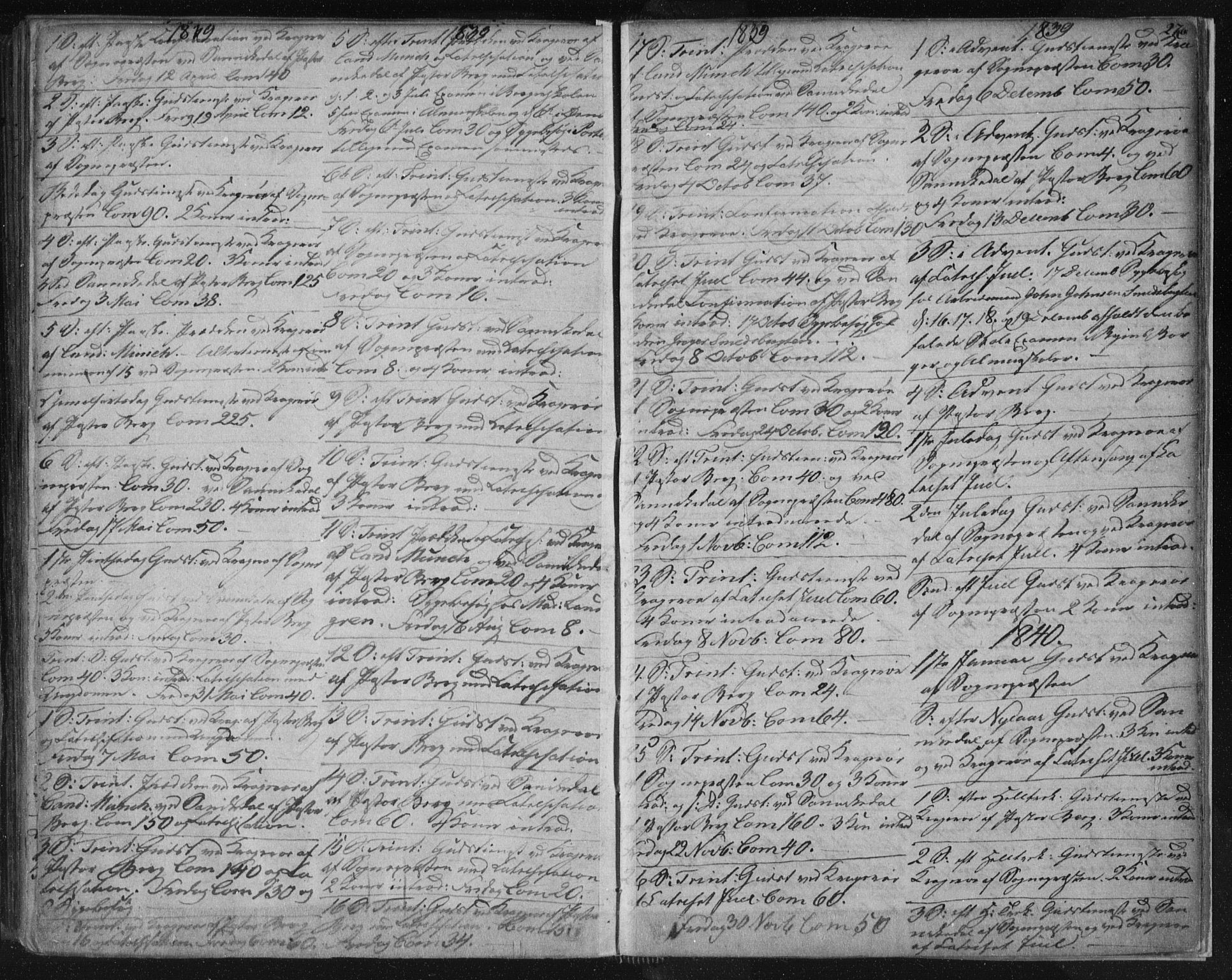 SAKO, Kragerø kirkebøker, F/Fa/L0005: Ministerialbok nr. 5, 1832-1847, s. 276