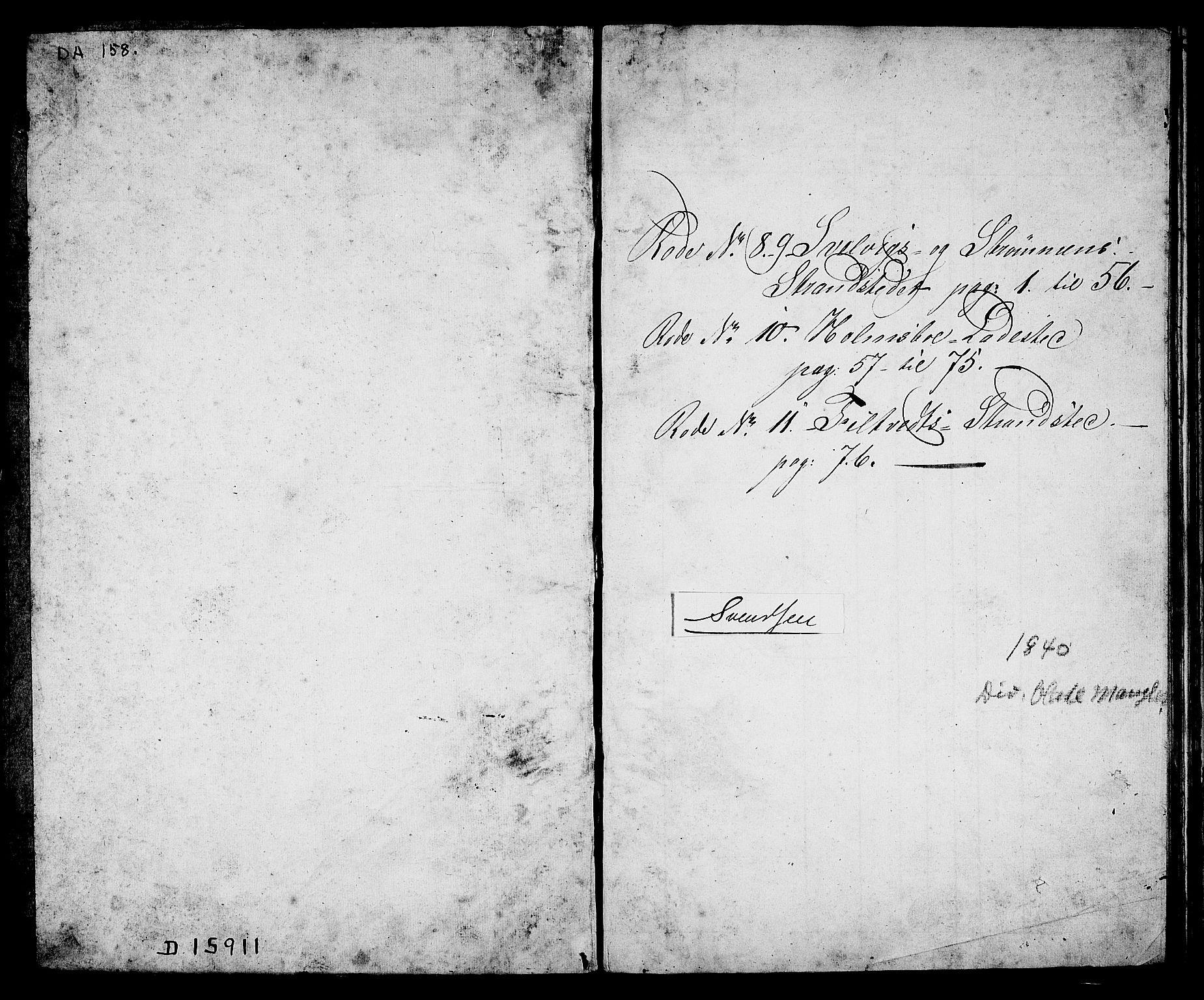 SAKO, Drammen innrulleringsdistrikt, F/Fa/L0006: Ungdomsrulle, 1840-1841, s. 3