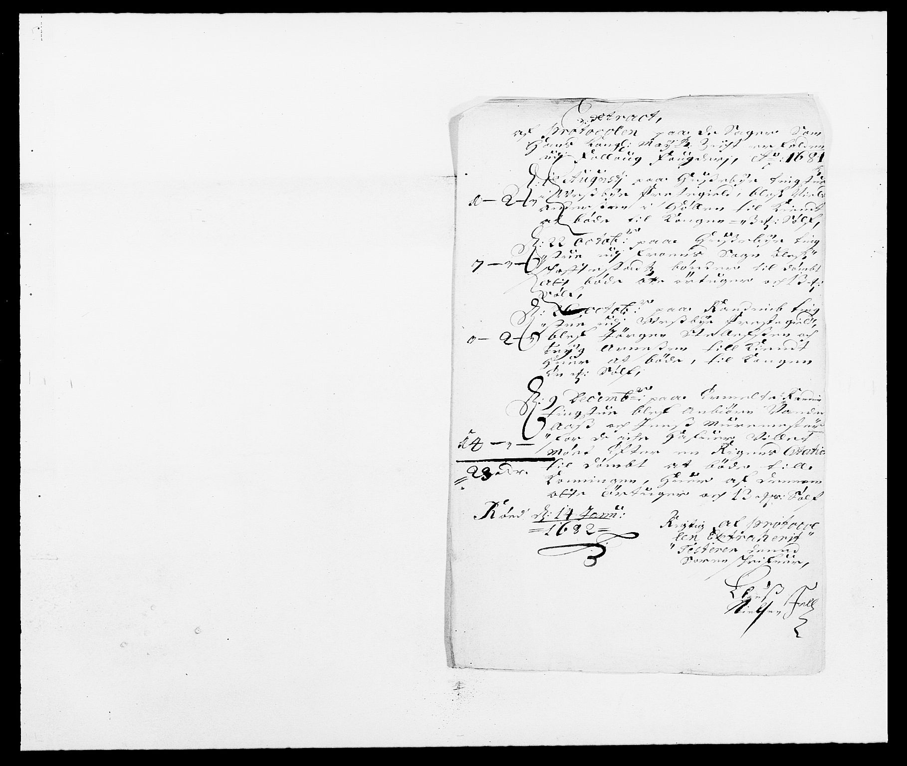 RA, Rentekammeret inntil 1814, Reviderte regnskaper, Fogderegnskap, R09/L0429: Fogderegnskap Follo, 1680-1681, s. 257