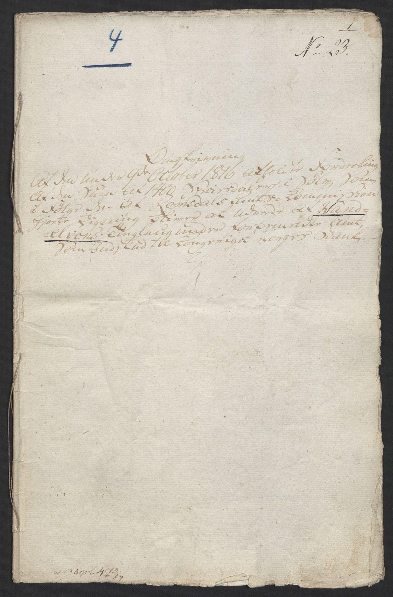 NOBA, Norges Bank/Sølvskatten 1816*, 1816, s. 34