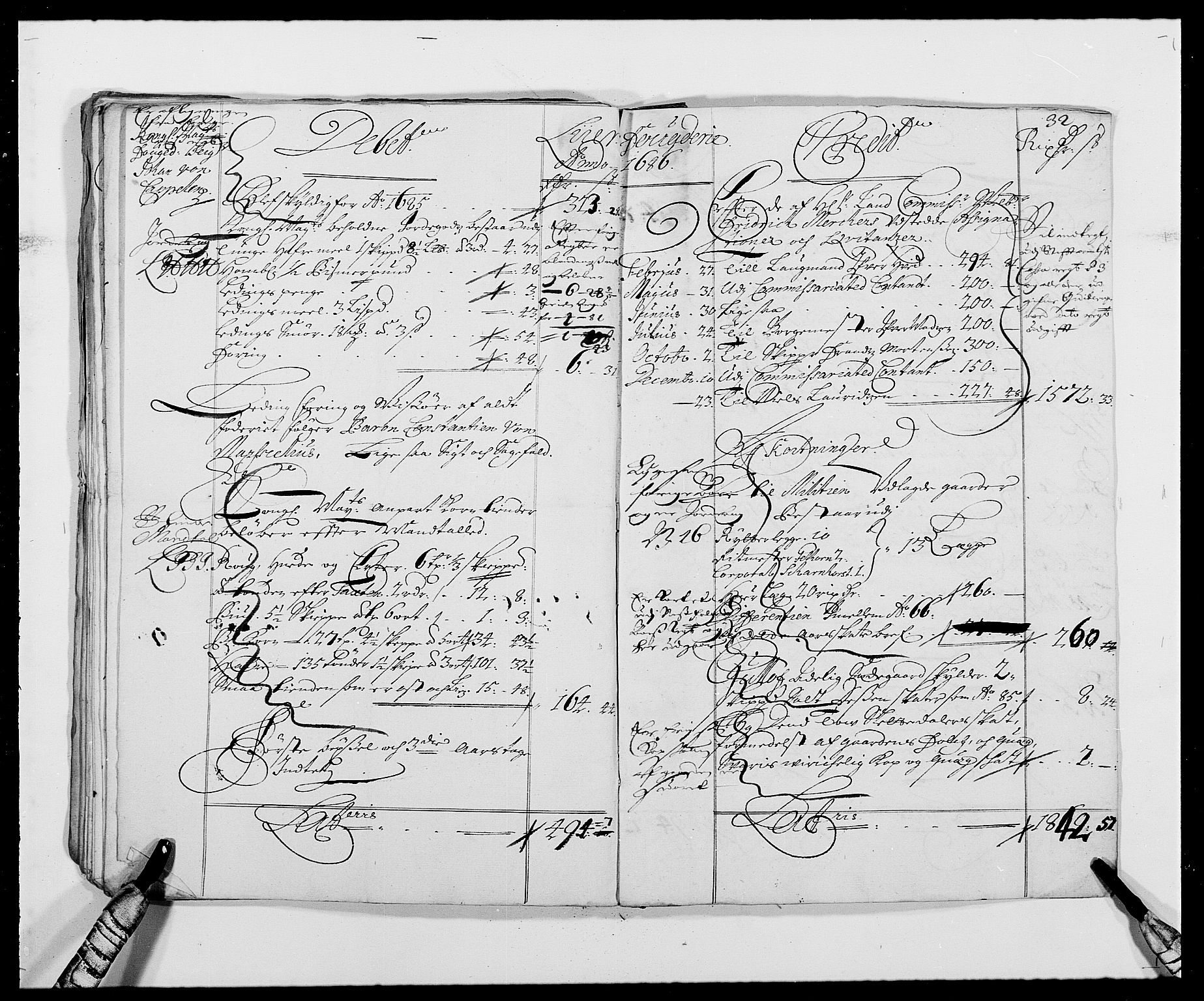 RA, Rentekammeret inntil 1814, Reviderte regnskaper, Fogderegnskap, R27/L1686: Fogderegnskap Lier, 1678-1686, s. 35