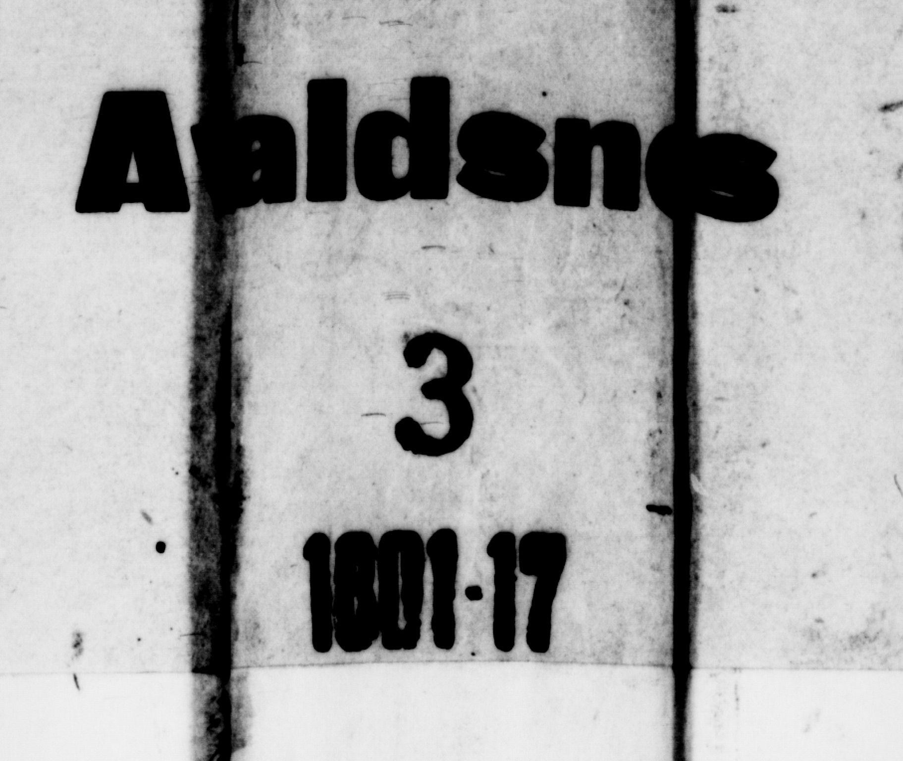 SAST, Avaldsnes sokneprestkontor, H/Ha/Haa/L0003: Ministerialbok nr. A 3, 1801-1817