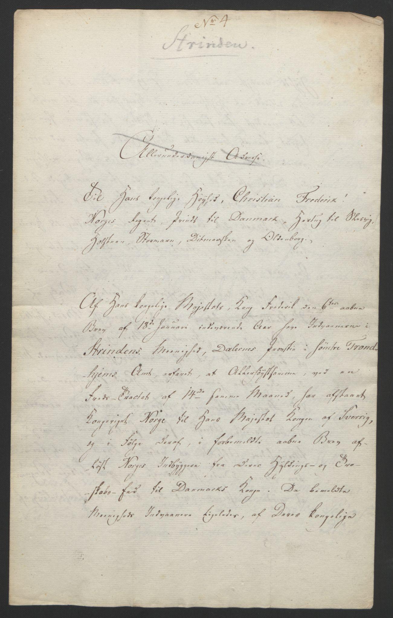 RA, Statsrådssekretariatet, D/Db/L0008: Fullmakter for Eidsvollsrepresentantene i 1814. , 1814, s. 456