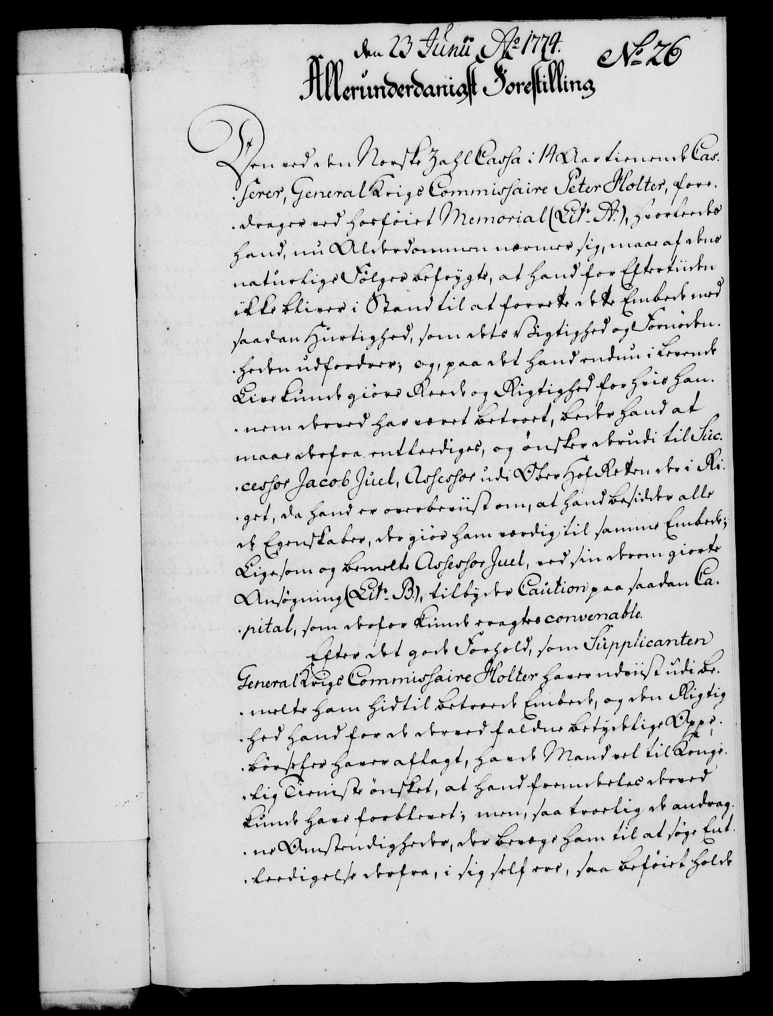 RA, Rentekammeret, Kammerkanselliet, G/Gf/Gfa/L0056: Norsk relasjons- og resolusjonsprotokoll (merket RK 52.56), 1774, s. 118