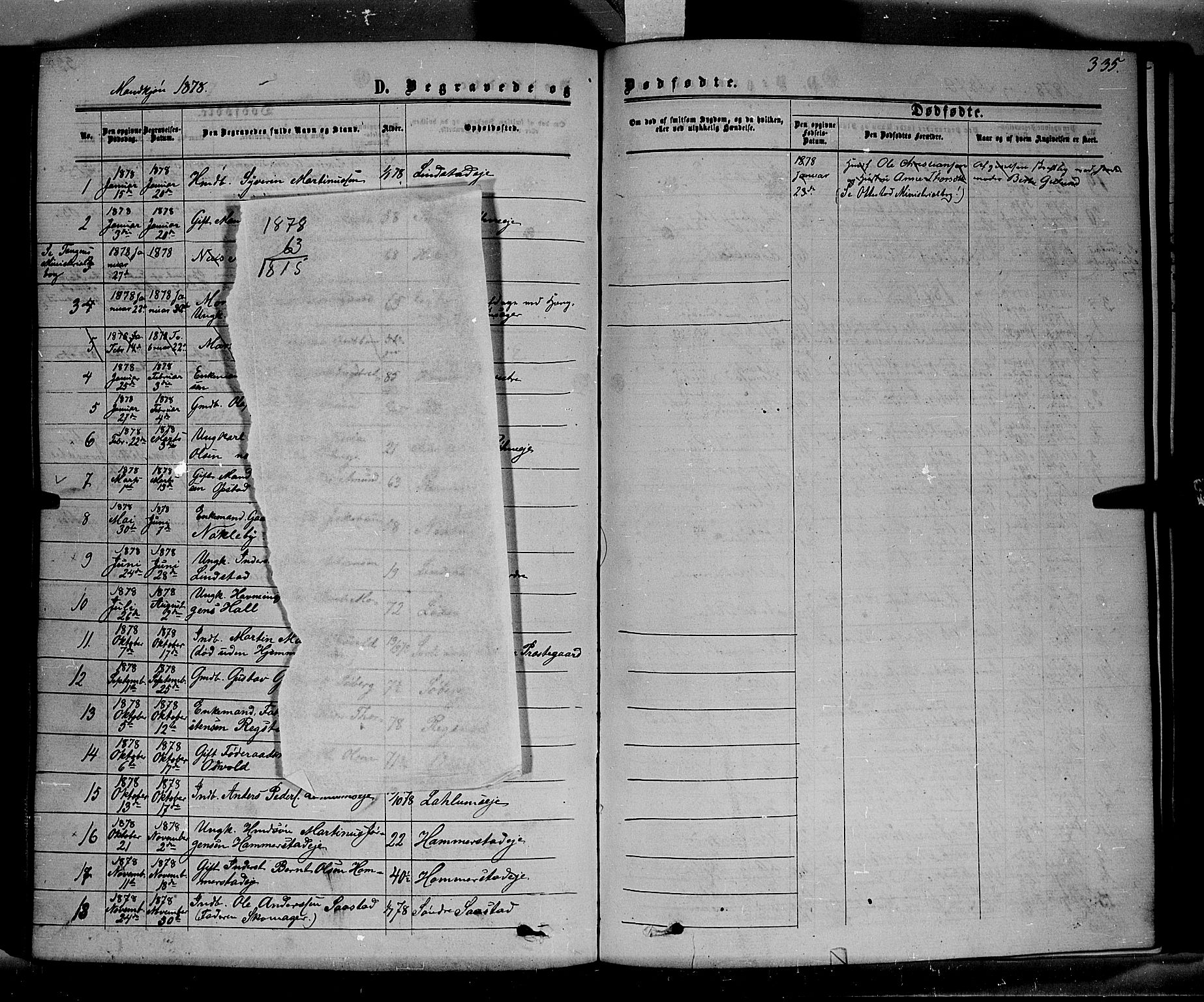 SAH, Stange prestekontor, K/L0013: Ministerialbok nr. 13, 1862-1879