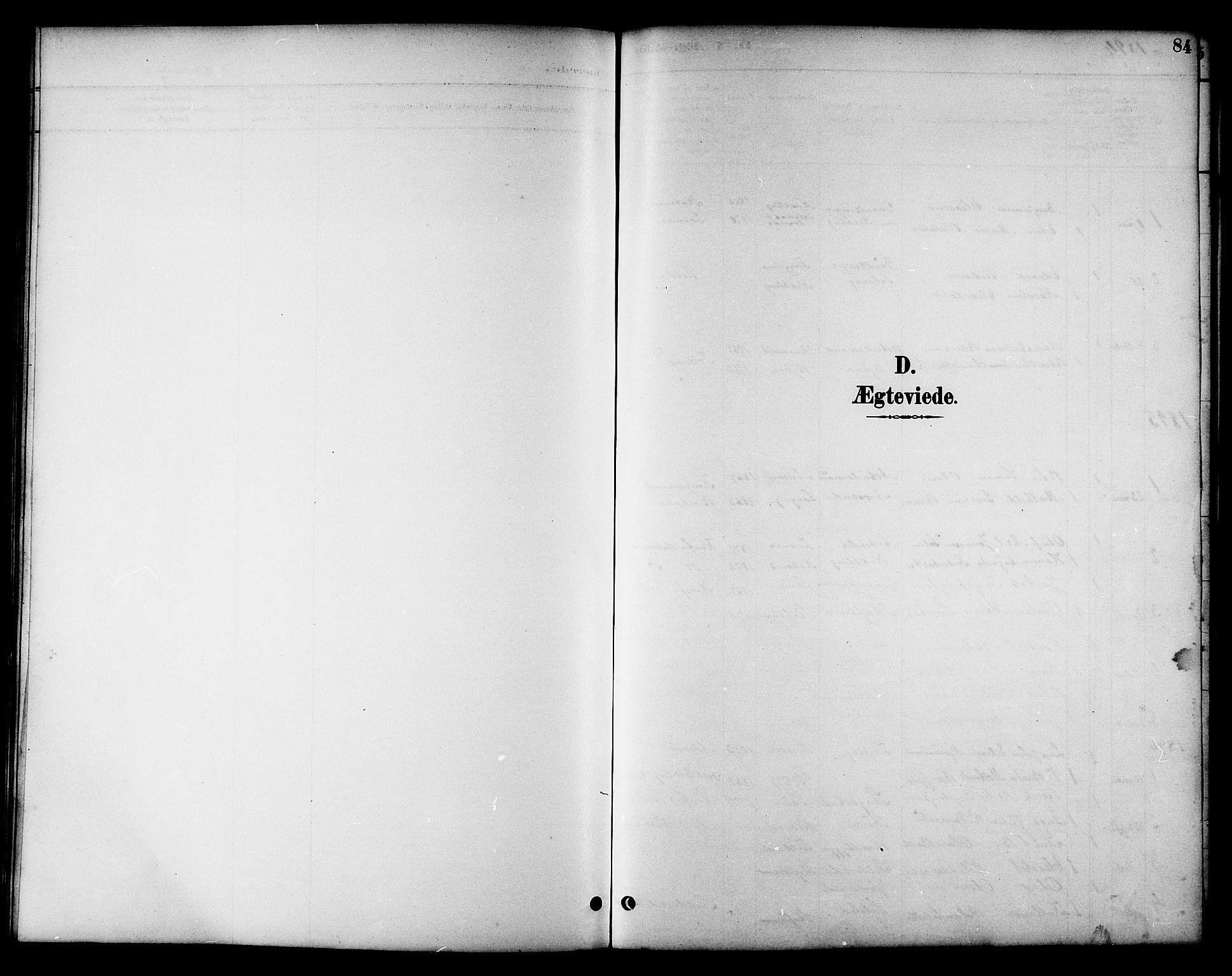 SAT, Ministerialprotokoller, klokkerbøker og fødselsregistre - Nord-Trøndelag, 783/L0662: Klokkerbok nr. 783C02, 1894-1919, s. 84