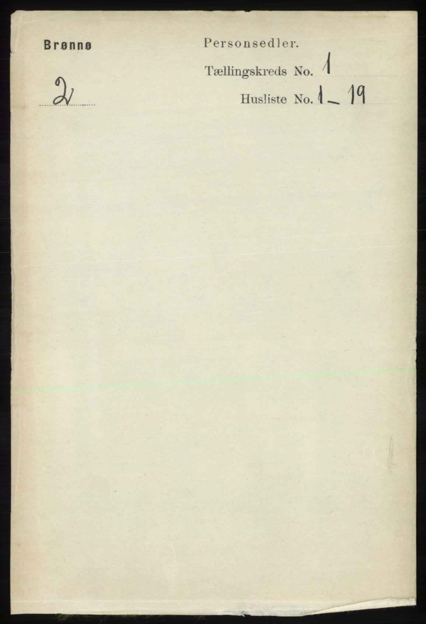 RA, Folketelling 1891 for 1814 Brønnøy herred, 1891, s. 131