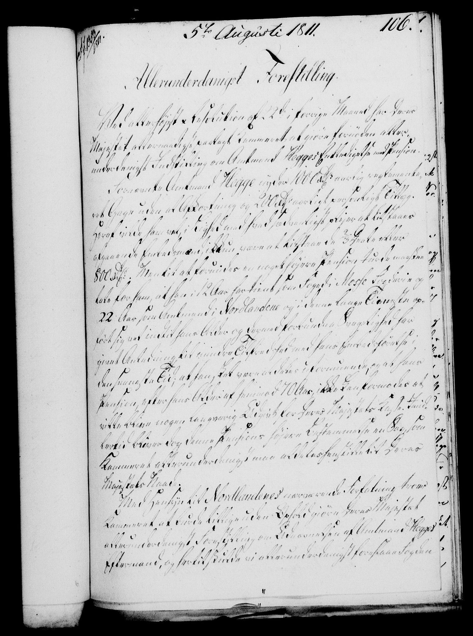 RA, Rentekammeret, Kammerkanselliet, G/Gf/Gfa/L0093: Norsk relasjons- og resolusjonsprotokoll (merket RK 52.93), 1811, s. 436