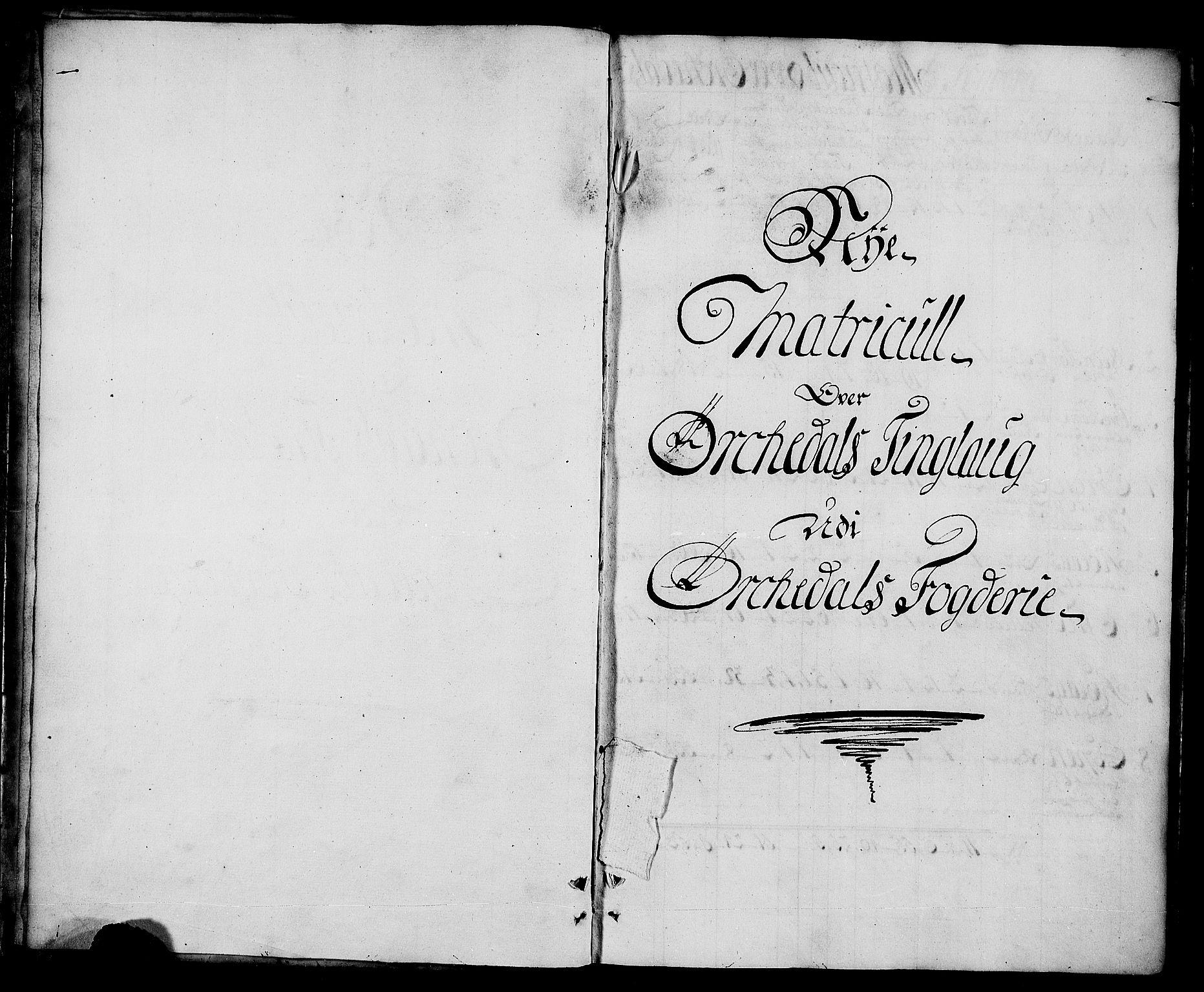 RA, Rentekammeret inntil 1814, Realistisk ordnet avdeling, N/Nb/Nbf/L0157: Orkdal matrikkelprotokoll, 1723, s. upaginert