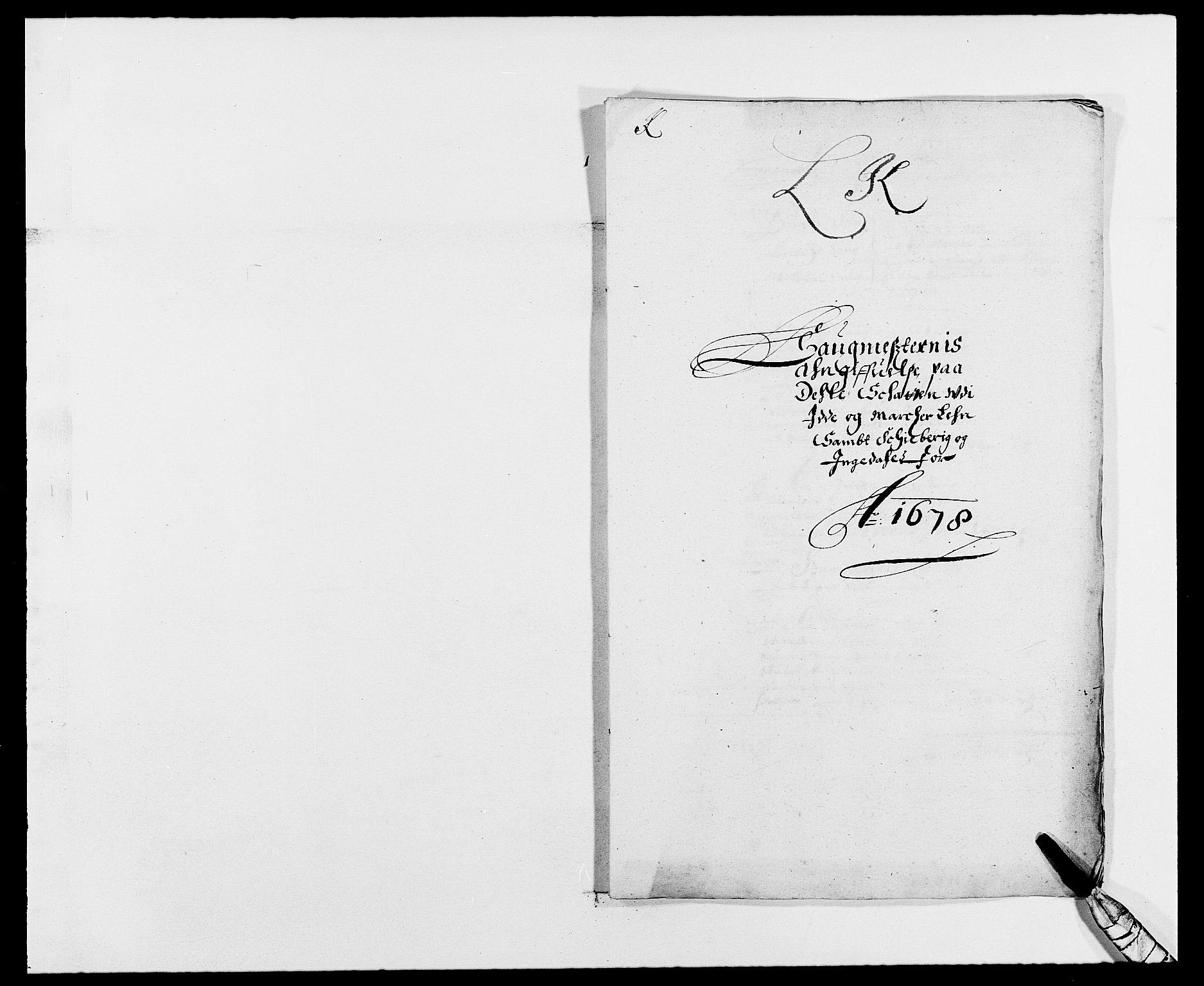 RA, Rentekammeret inntil 1814, Reviderte regnskaper, Fogderegnskap, R01/L0001: Fogderegnskap Idd og Marker, 1678-1679, s. 253