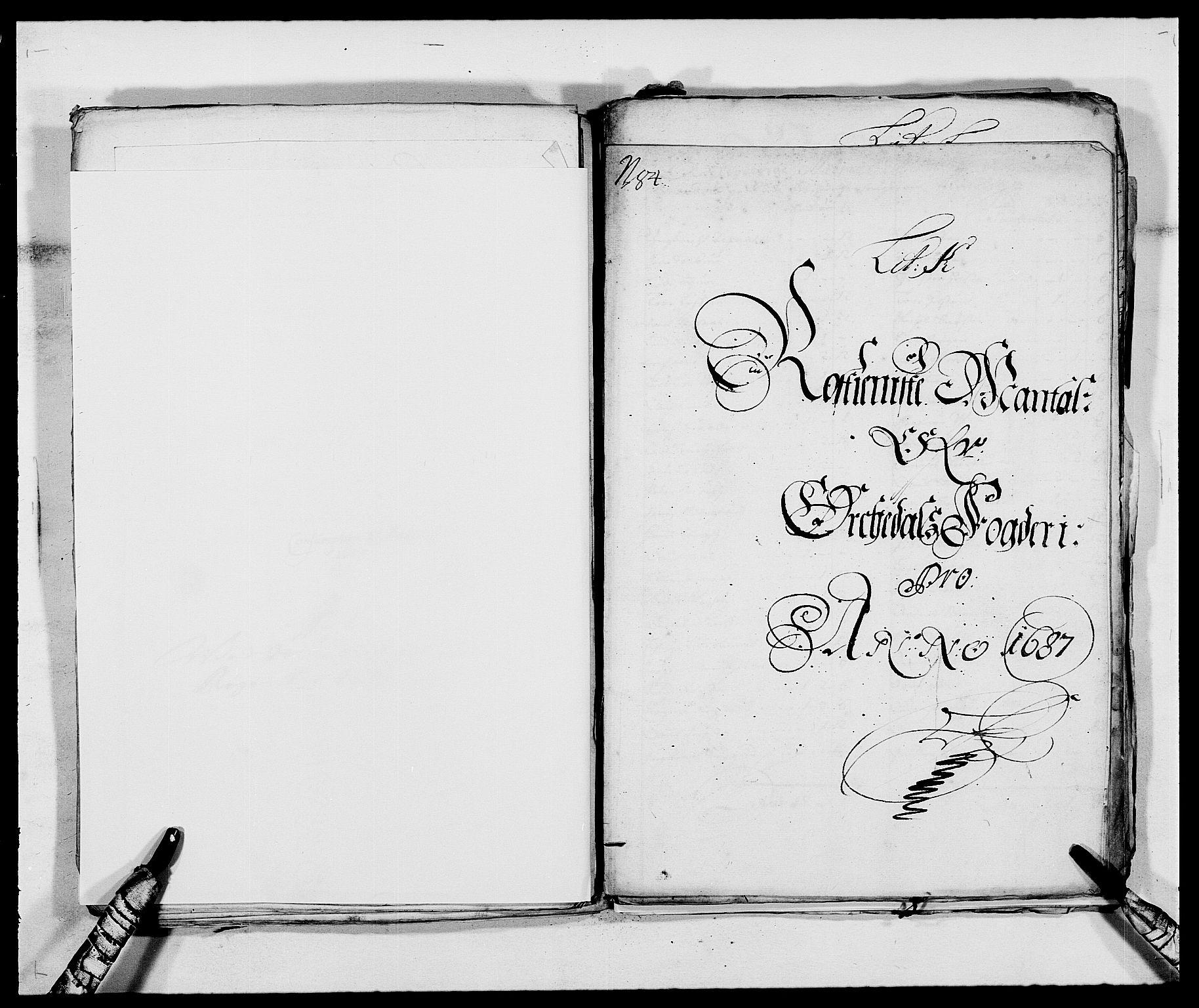 RA, Rentekammeret inntil 1814, Reviderte regnskaper, Fogderegnskap, R58/L3935: Fogderegnskap Orkdal, 1687-1688, s. 121
