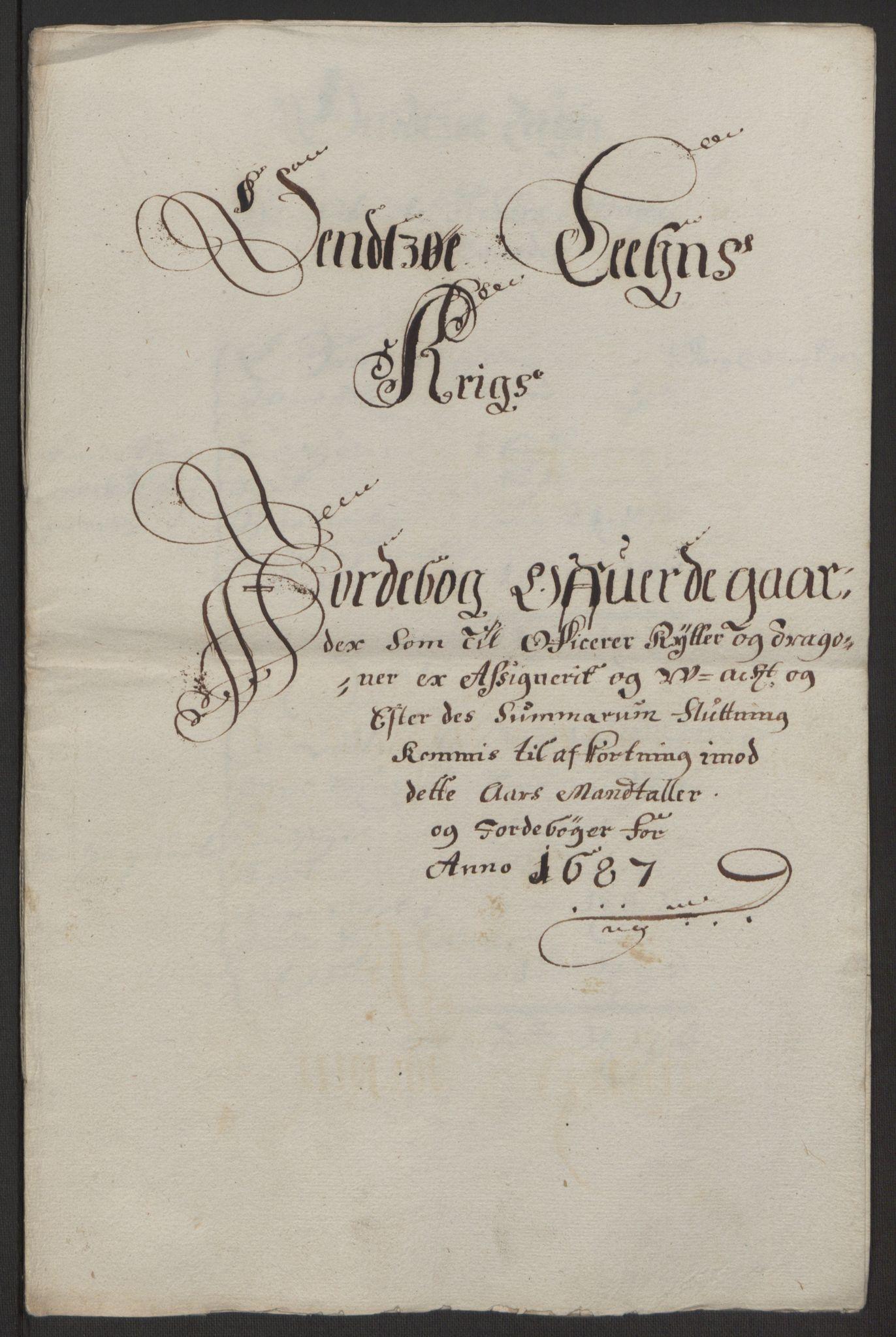 RA, Rentekammeret inntil 1814, Reviderte regnskaper, Fogderegnskap, R03/L0118: Fogderegnskap Onsøy, Tune, Veme og Åbygge fogderi, 1684-1689, s. 225