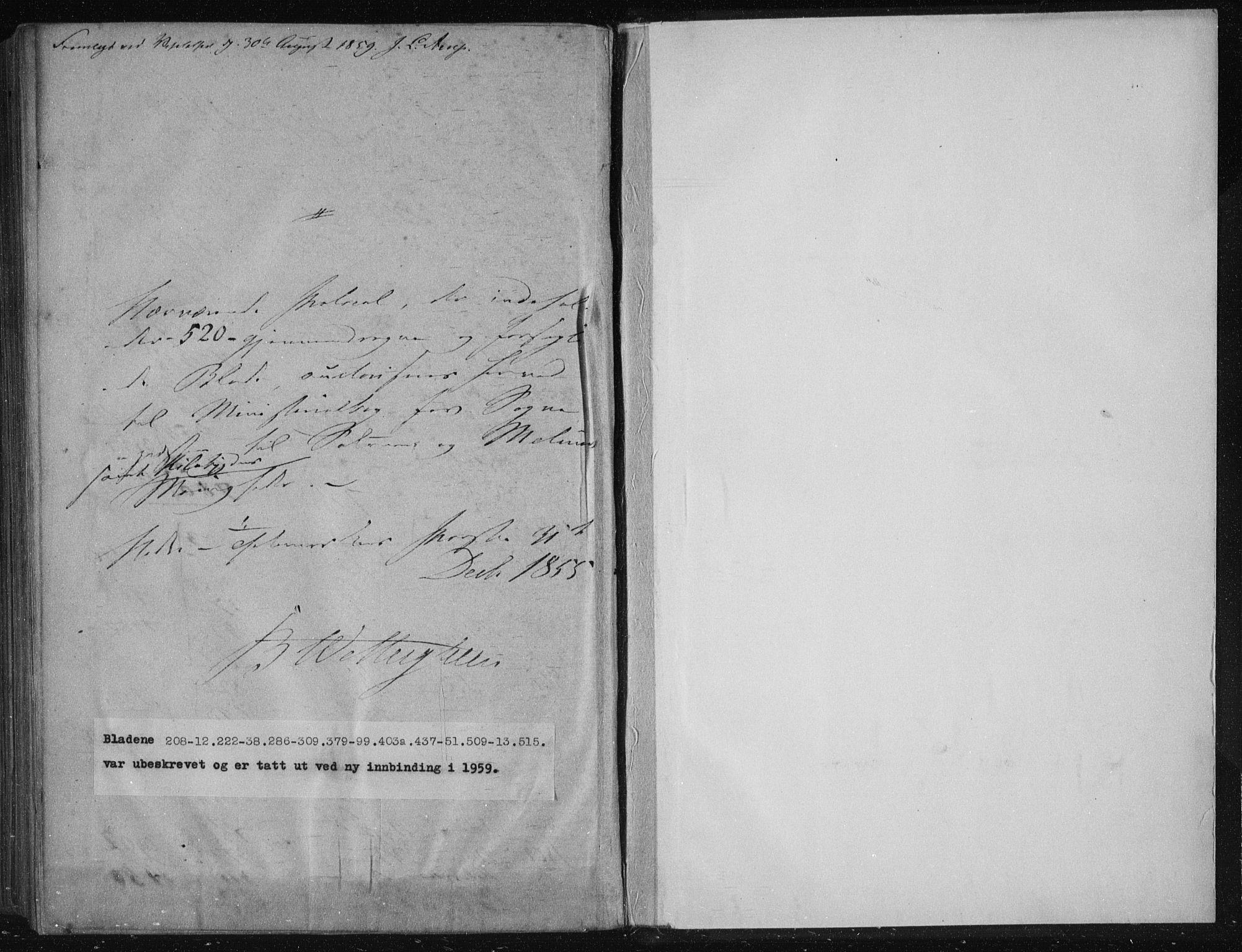 SAKO, Solum kirkebøker, F/Fa/L0007: Ministerialbok nr. I 7, 1856-1864