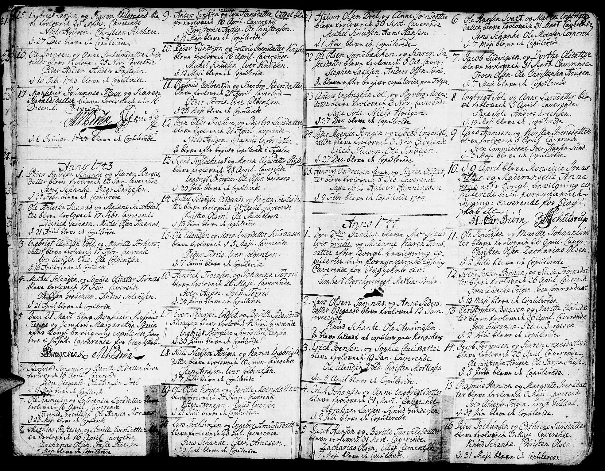SAT, Ministerialprotokoller, klokkerbøker og fødselsregistre - Sør-Trøndelag, 681/L0925: Ministerialbok nr. 681A03, 1727-1766, s. 8