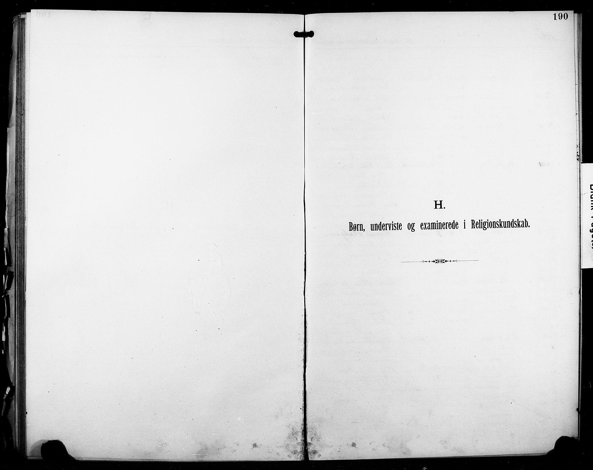 SAO, Kristi menighet Fredrikstad , A/L0001: Dissenterprotokoll nr. 1, 1893-1914, s. 190