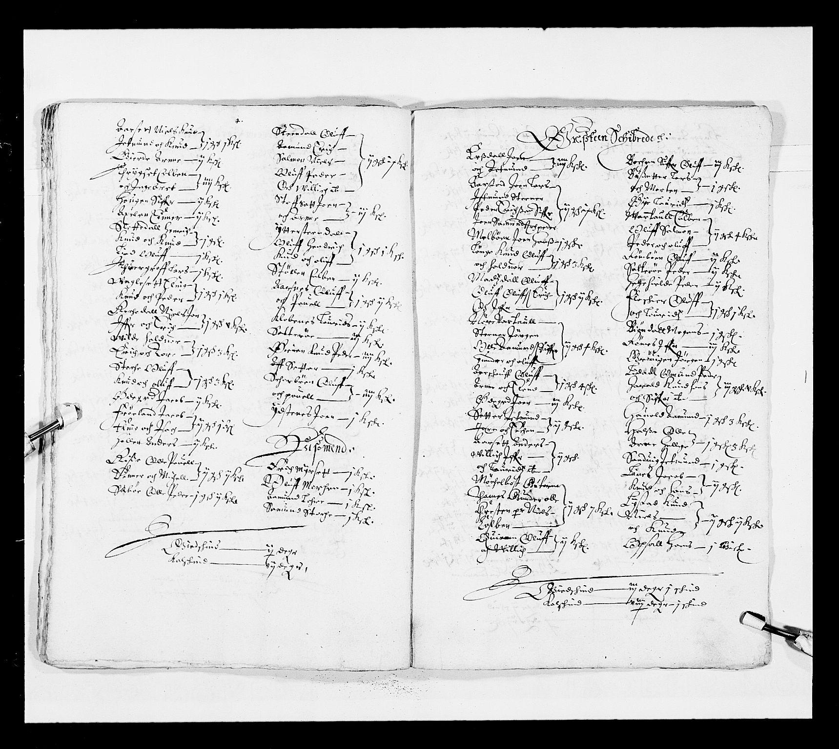 RA, Stattholderembetet 1572-1771, Ek/L0025: Jordebøker 1633-1658:, 1645-1646, s. 253