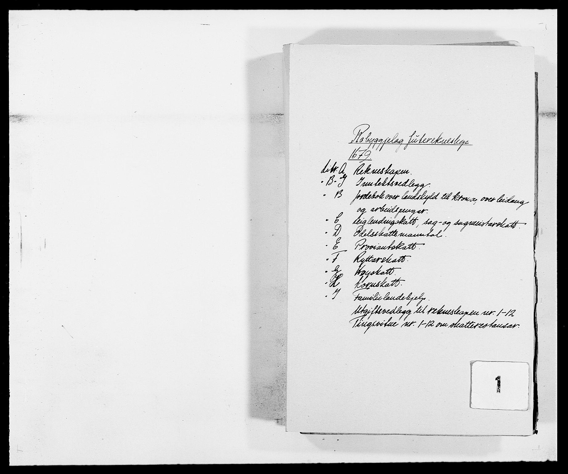 RA, Rentekammeret inntil 1814, Reviderte regnskaper, Fogderegnskap, R40/L2436: Fogderegnskap Råbyggelag, 1679-1680, s. 1